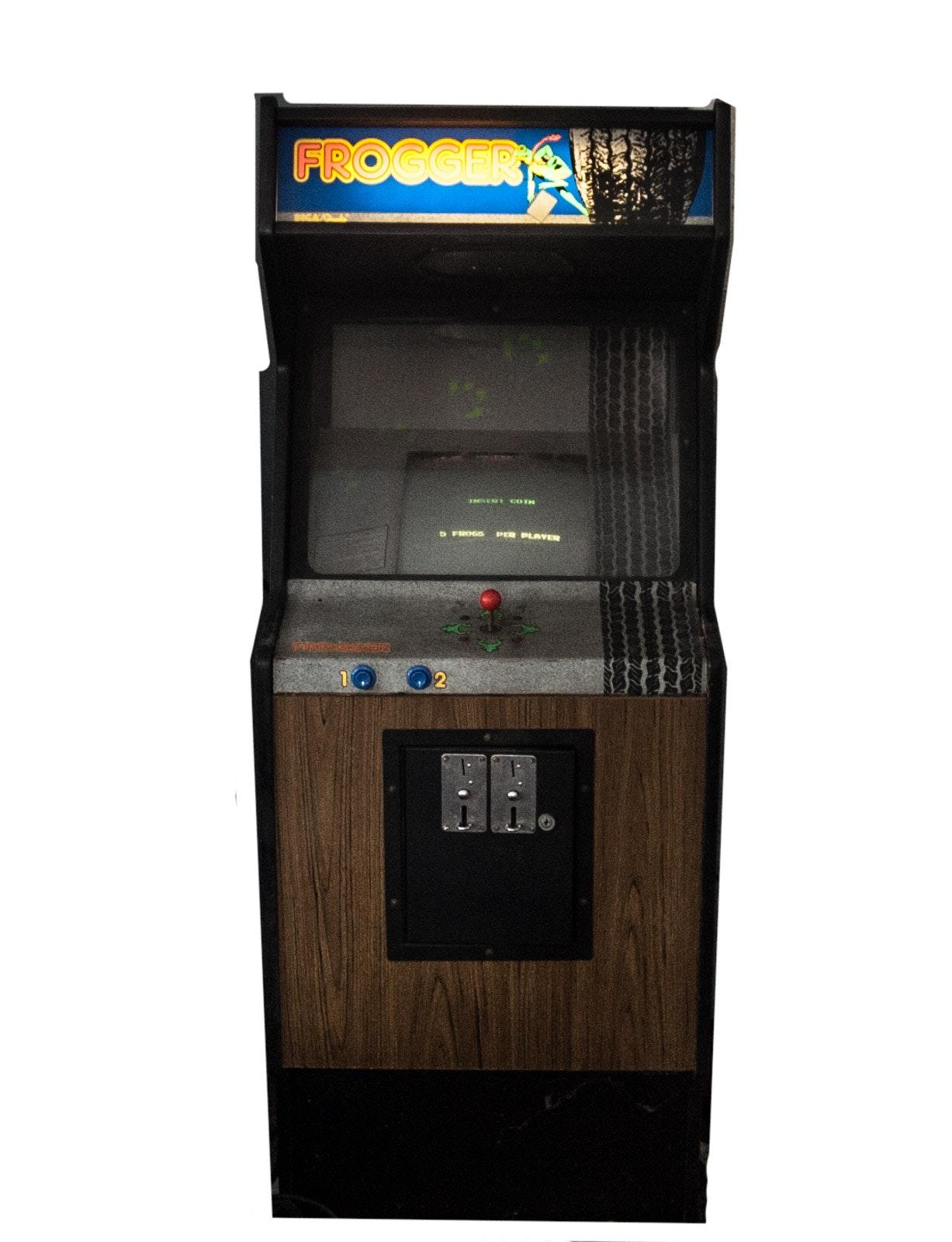 Sega-Gremlin Frogger Arcade Cabinet