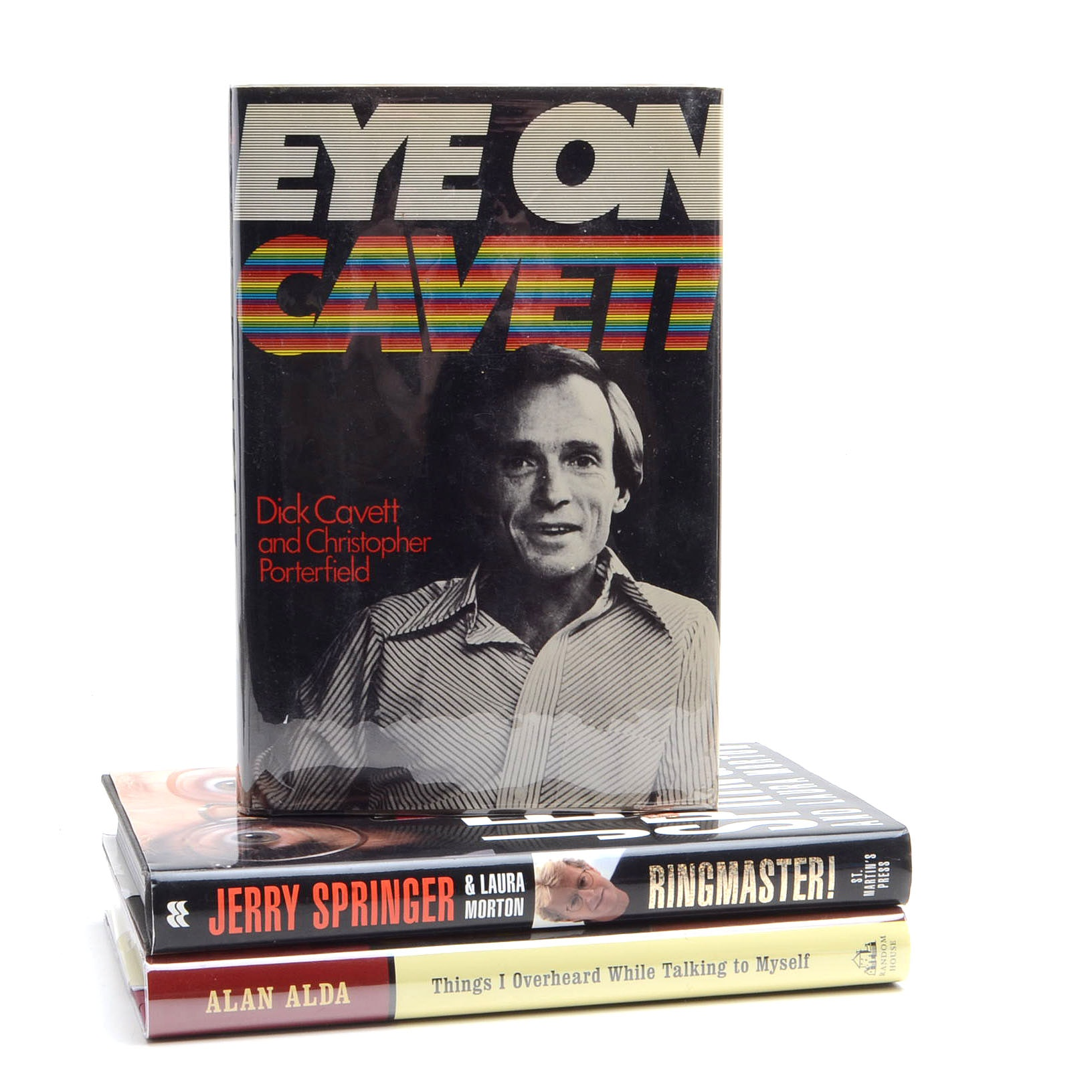 Collection of Celebrity Memoirs including Alan Alda and Jerry Springer