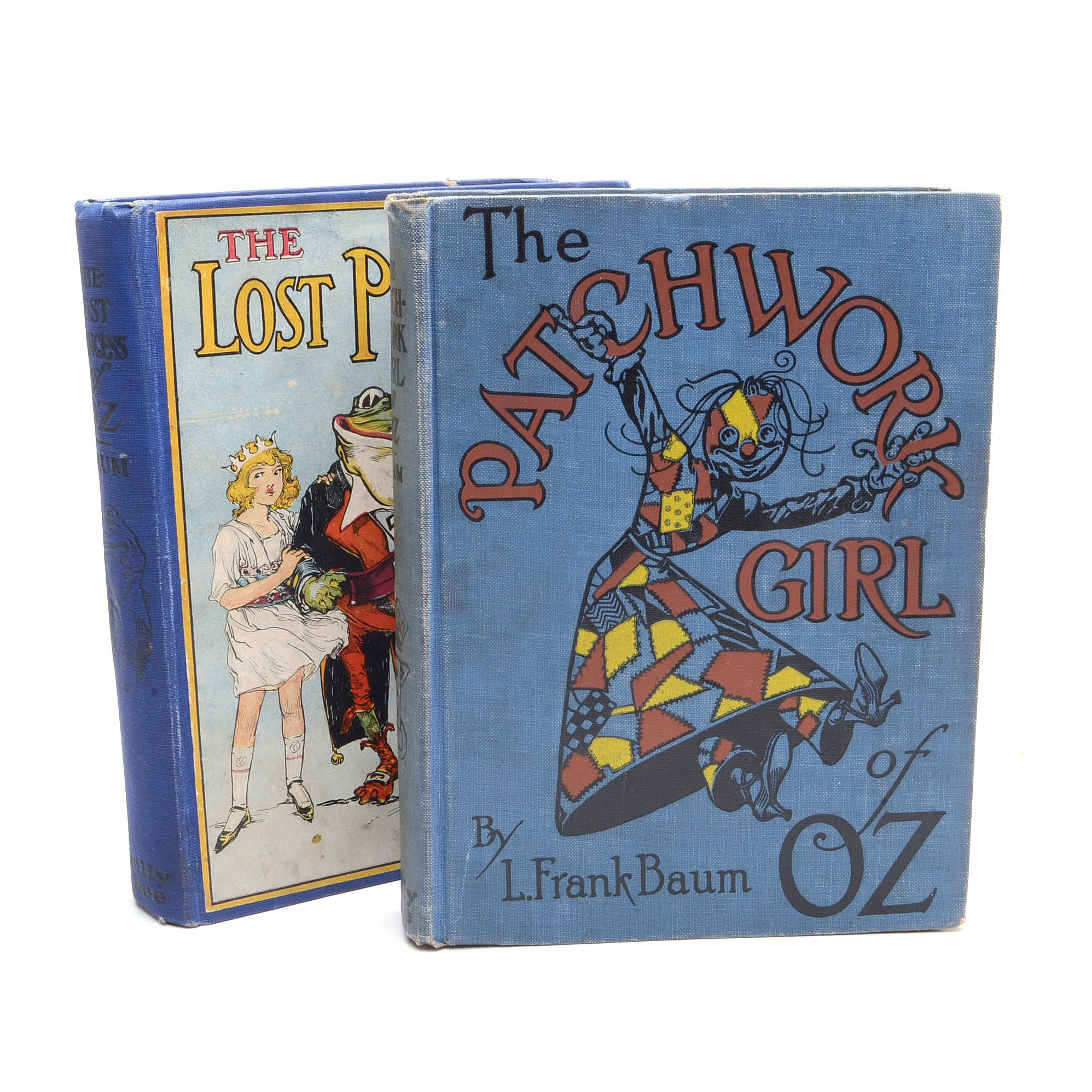 "Early Edition ""Oz"" Books by L. Frank Baum"
