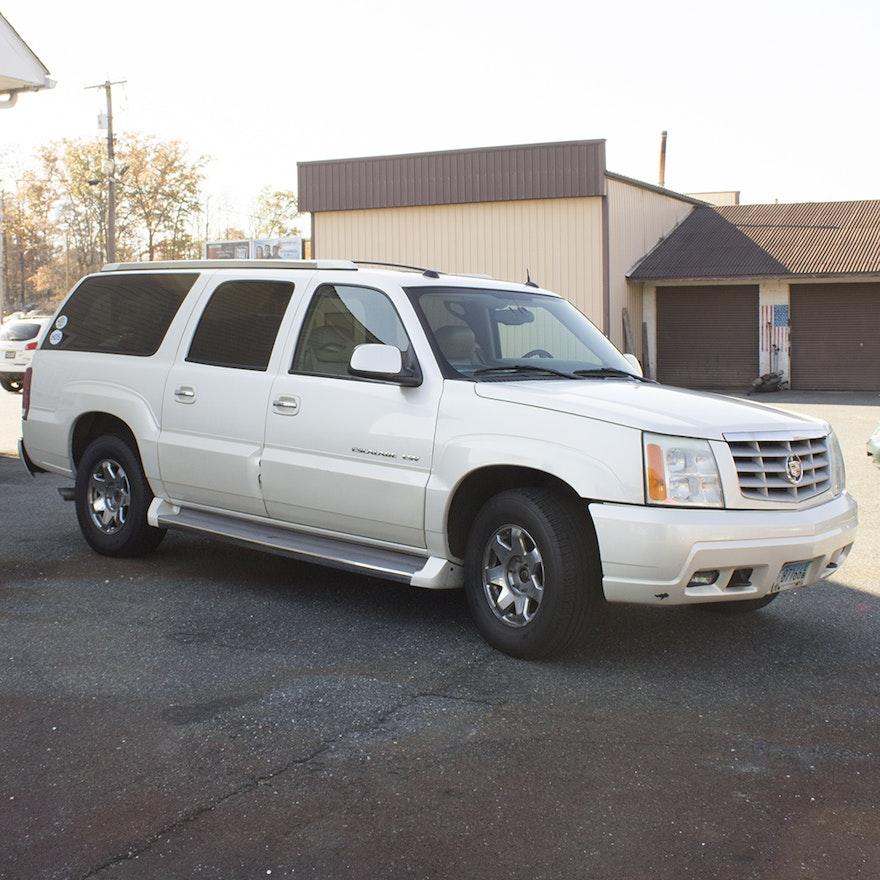 Used Cadillac Escalade Esv For Sale: 2005 Cadillac Escalade ESV : EBTH