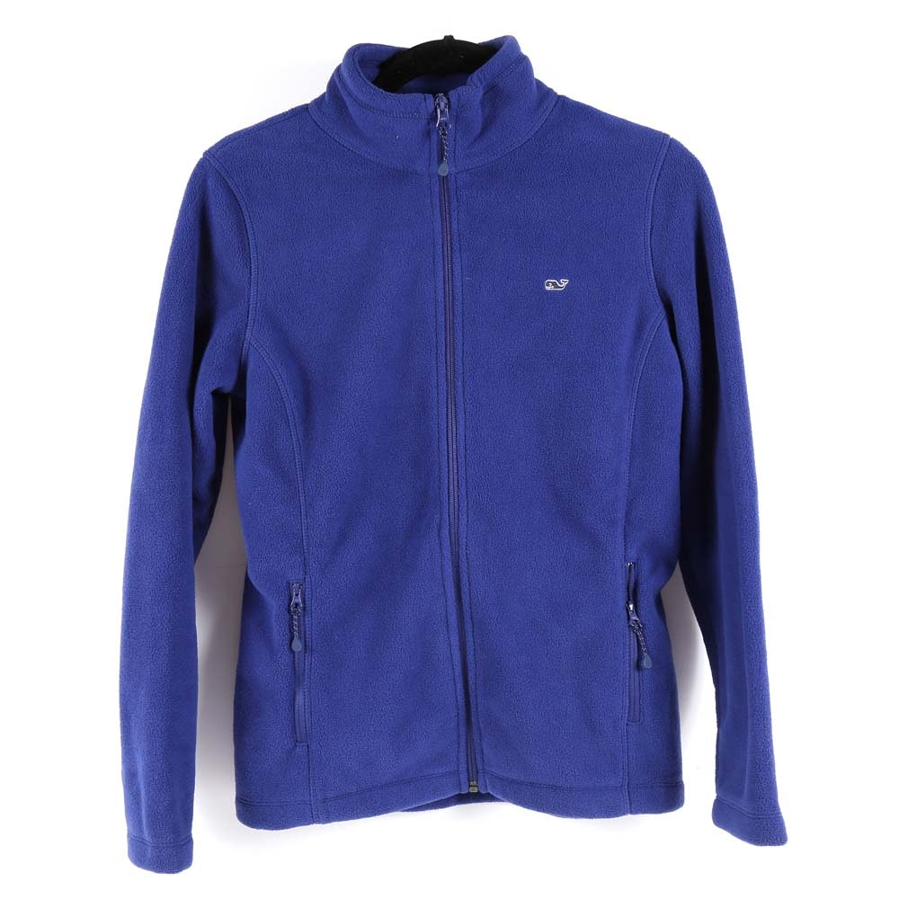 Vineyard Vines Fleece Full-Zip Jacket