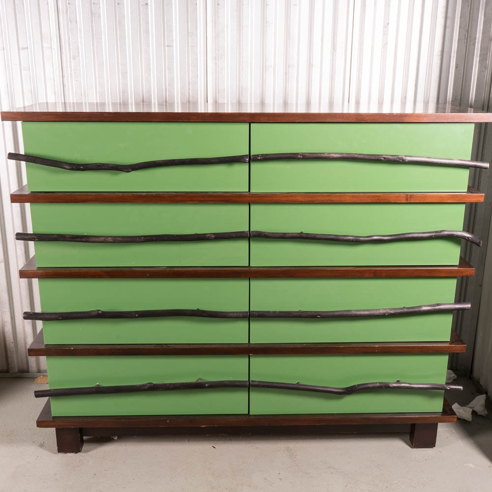 Mid-Century Rustic Chest of Drawers