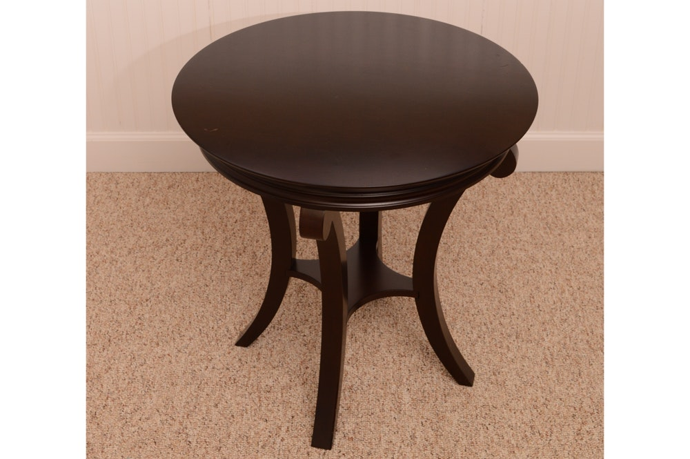 Contemporary Side Table by The Bombay Company