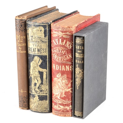Group of Antique American West Nonfiction Hardcovers