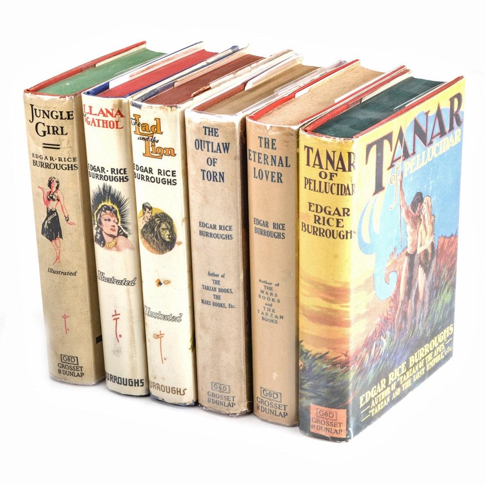 Group of Edgar Rice Burroughs Novels