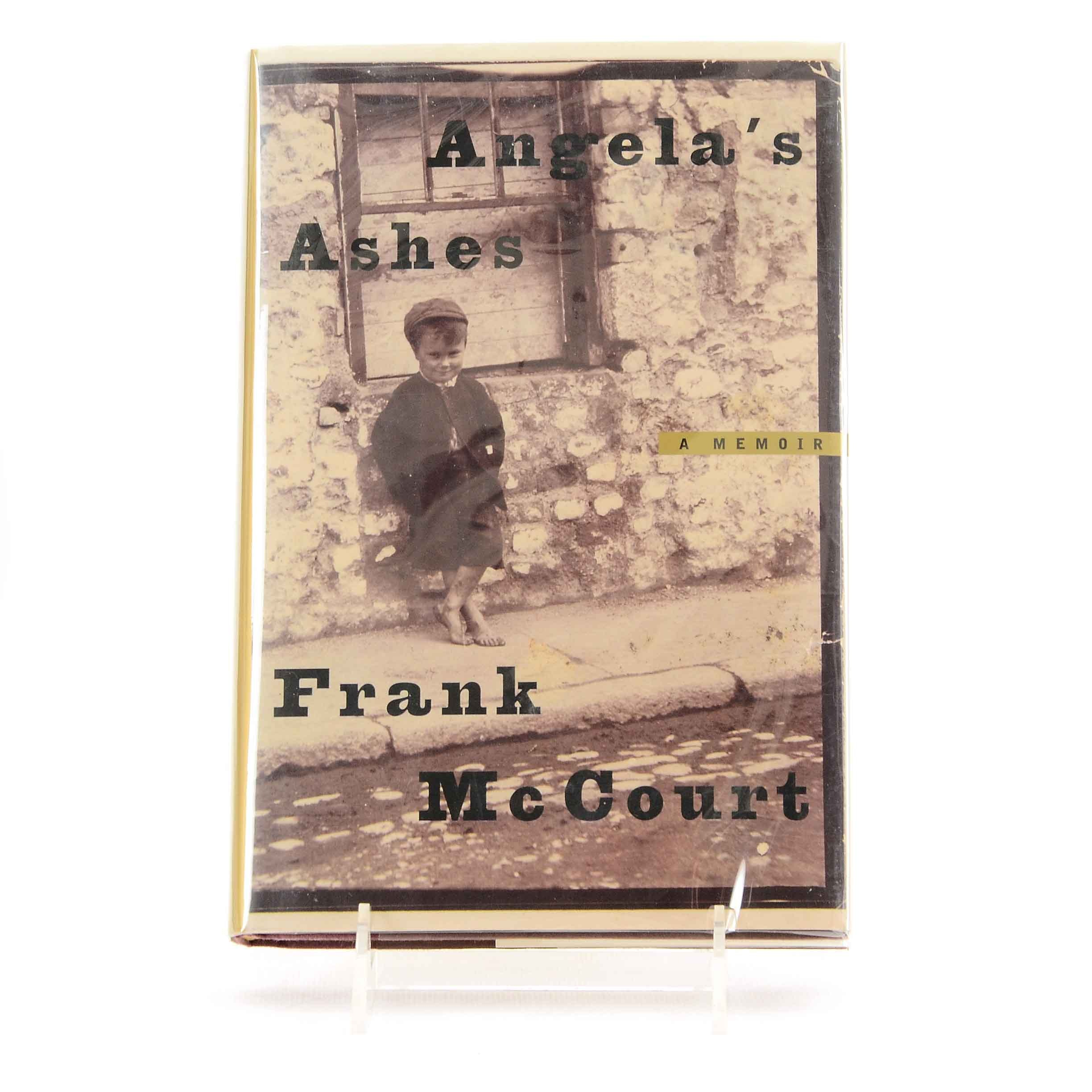 """First Edition Signed """"Angela's Ashes"""" by Frank McCourt"""