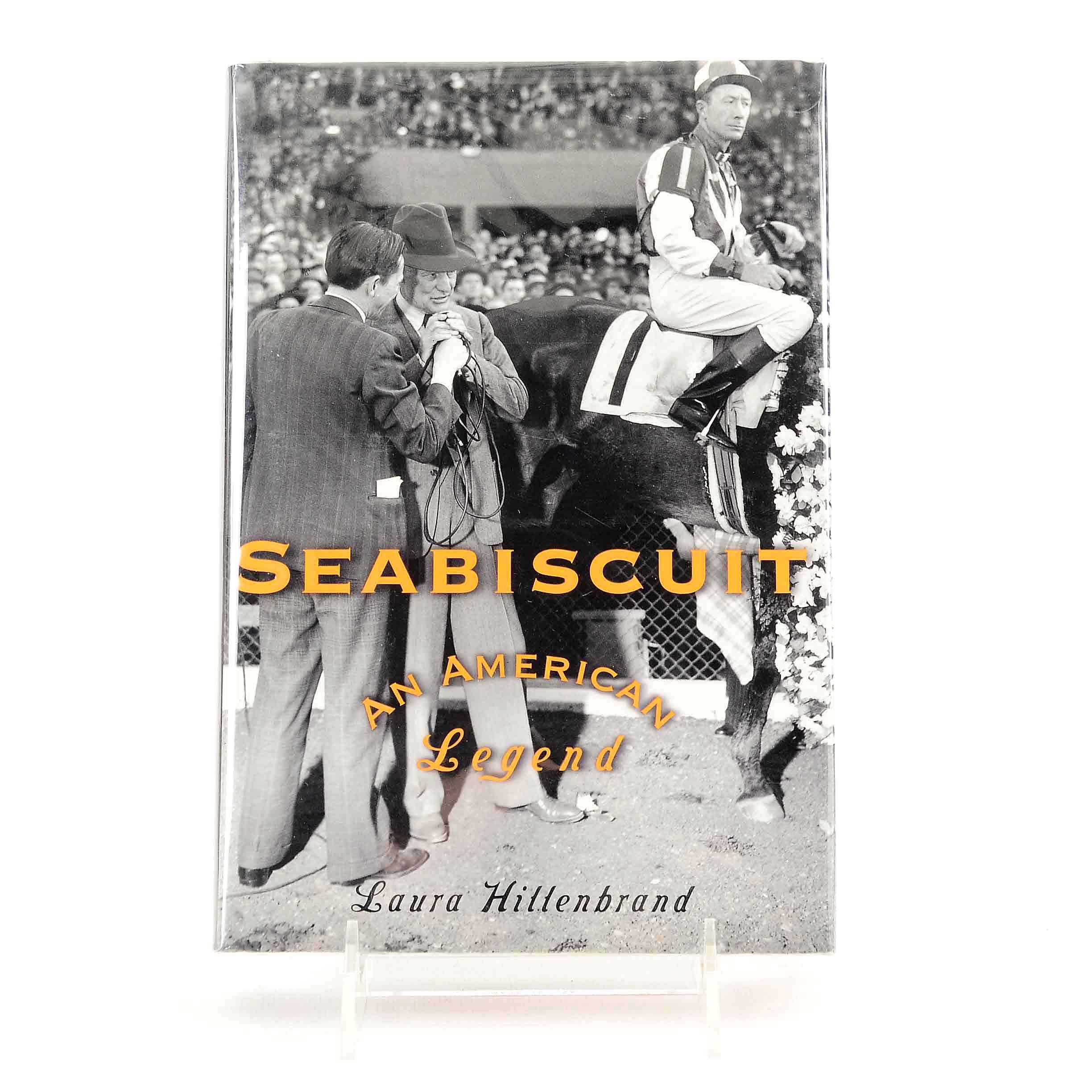 """First Edition Signed """"Seabiscuit"""" by Laura Hillenbrand"""