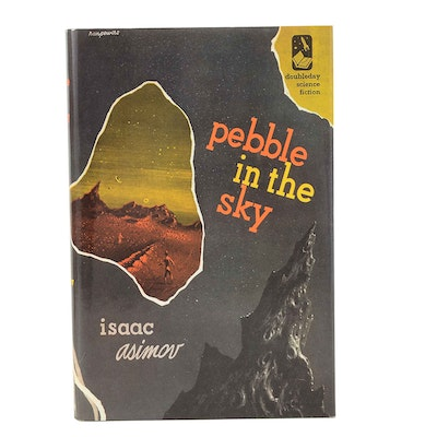 """Signed Limited First Edition """"Pebble in the Sky"""" by Isaac Asimov"""