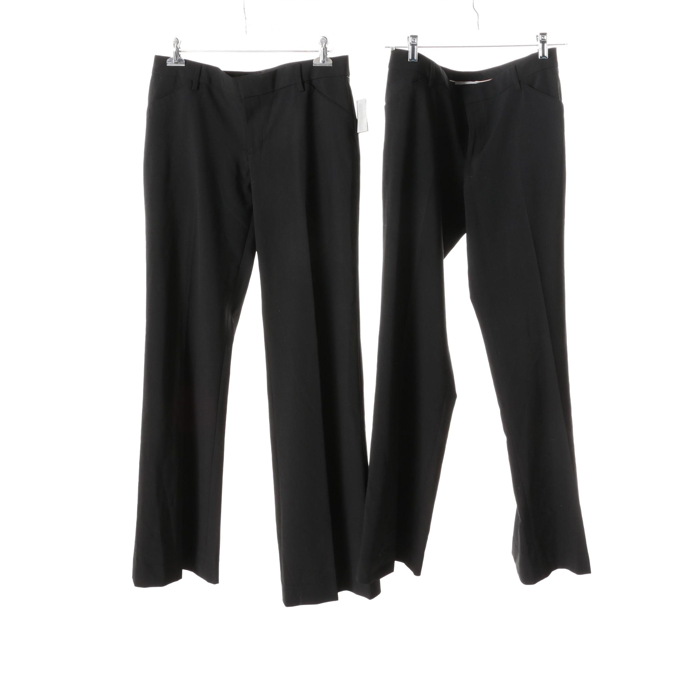 Women's Gap Perfect Trousers in Black