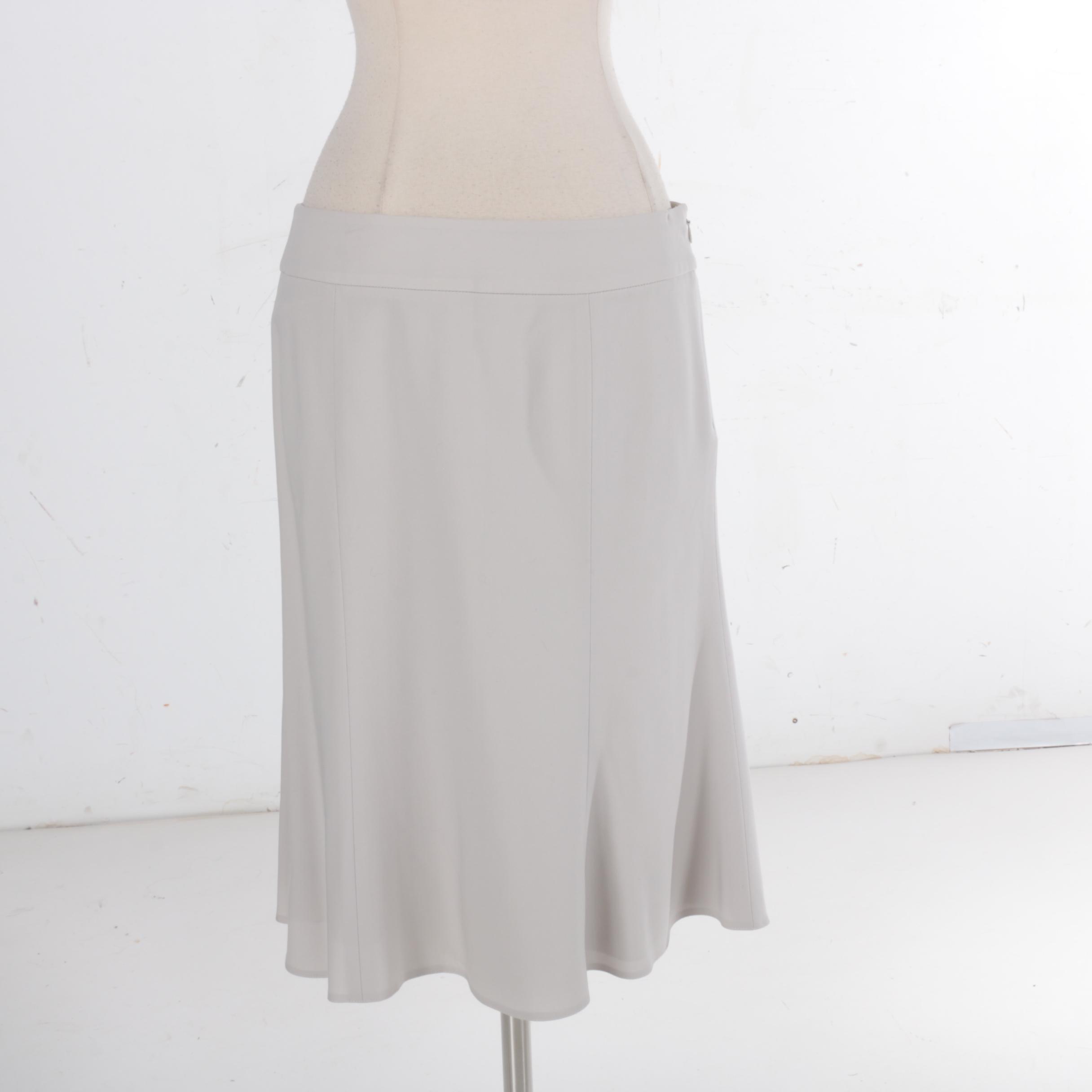 Armani Collezioni Flare Skirt