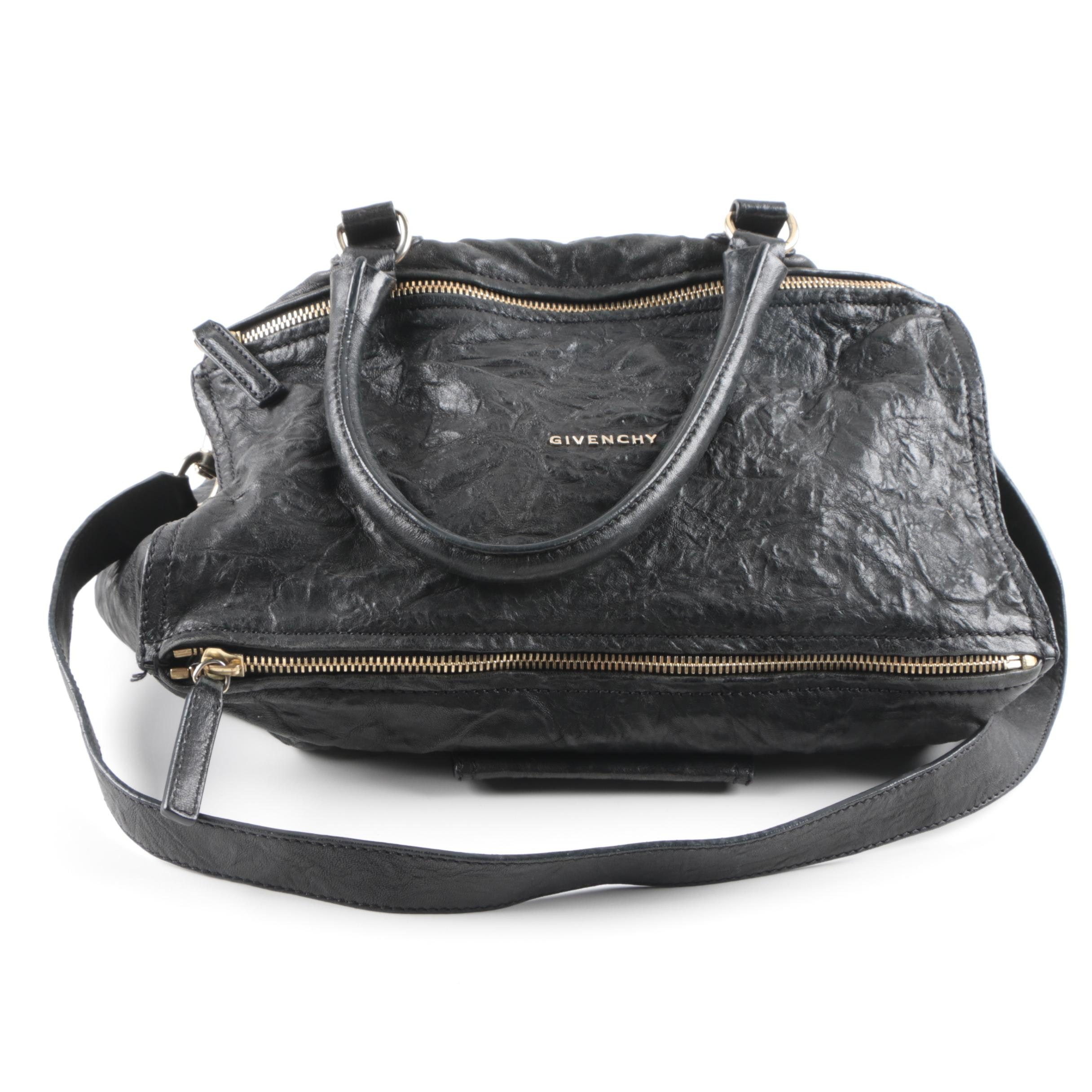 Givenchy Old Pepe Leather Pandora Handbag