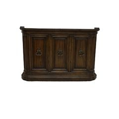 """Grand Tour"" Neoclassical Style Walnut Bar from Drexel-Heritage"