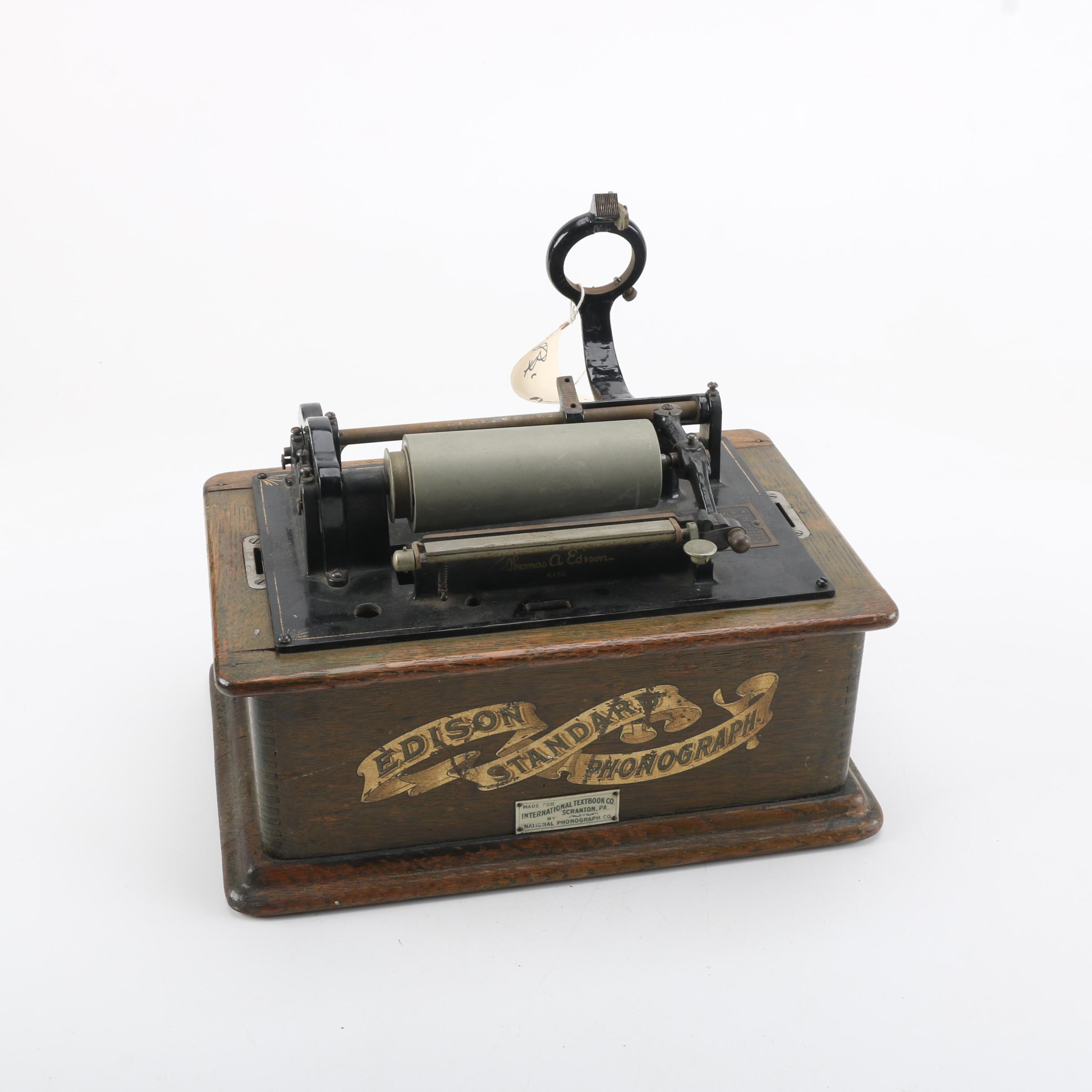 Antique Edison Standard Phonograph