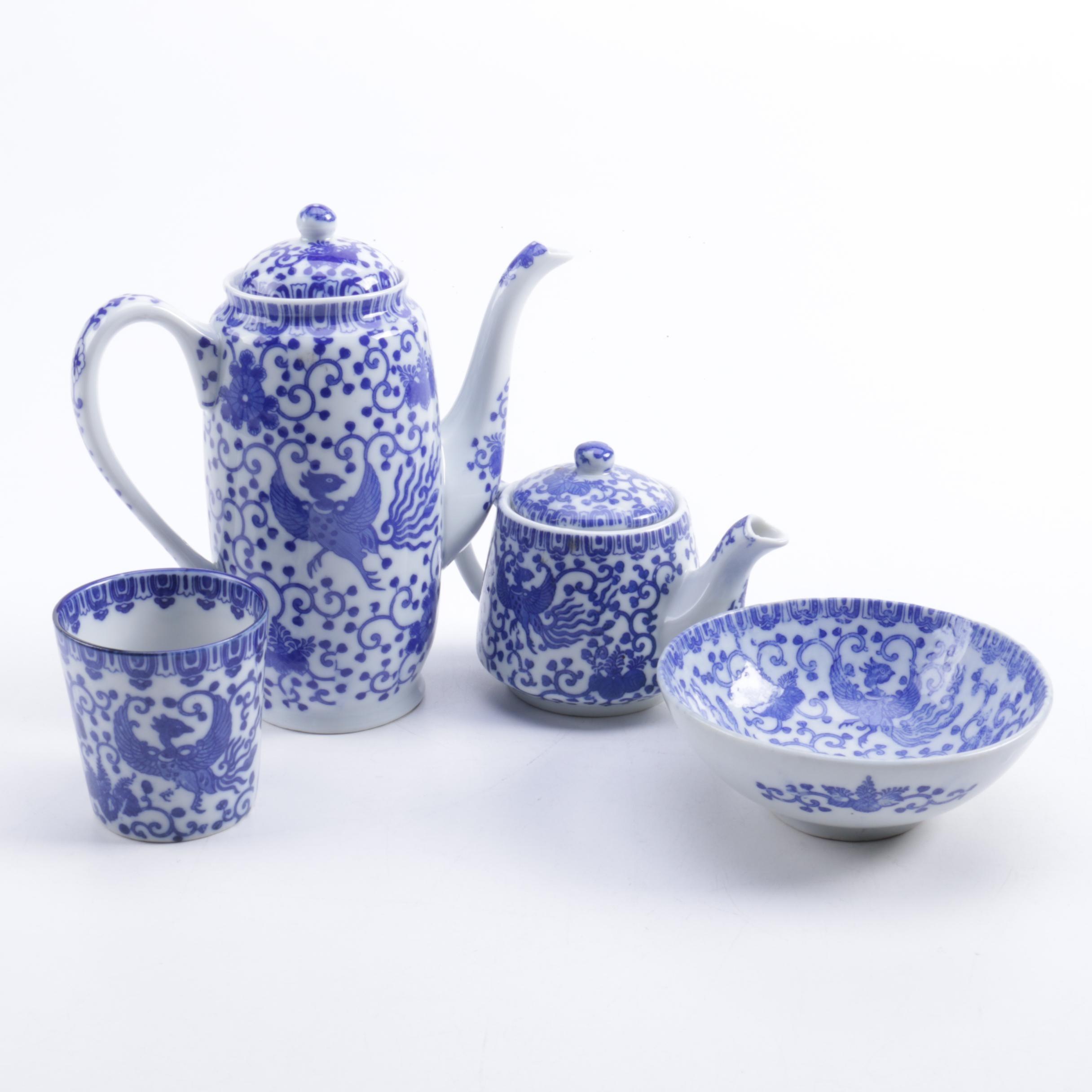 Japanese Porcelain Tableware Including Noritake