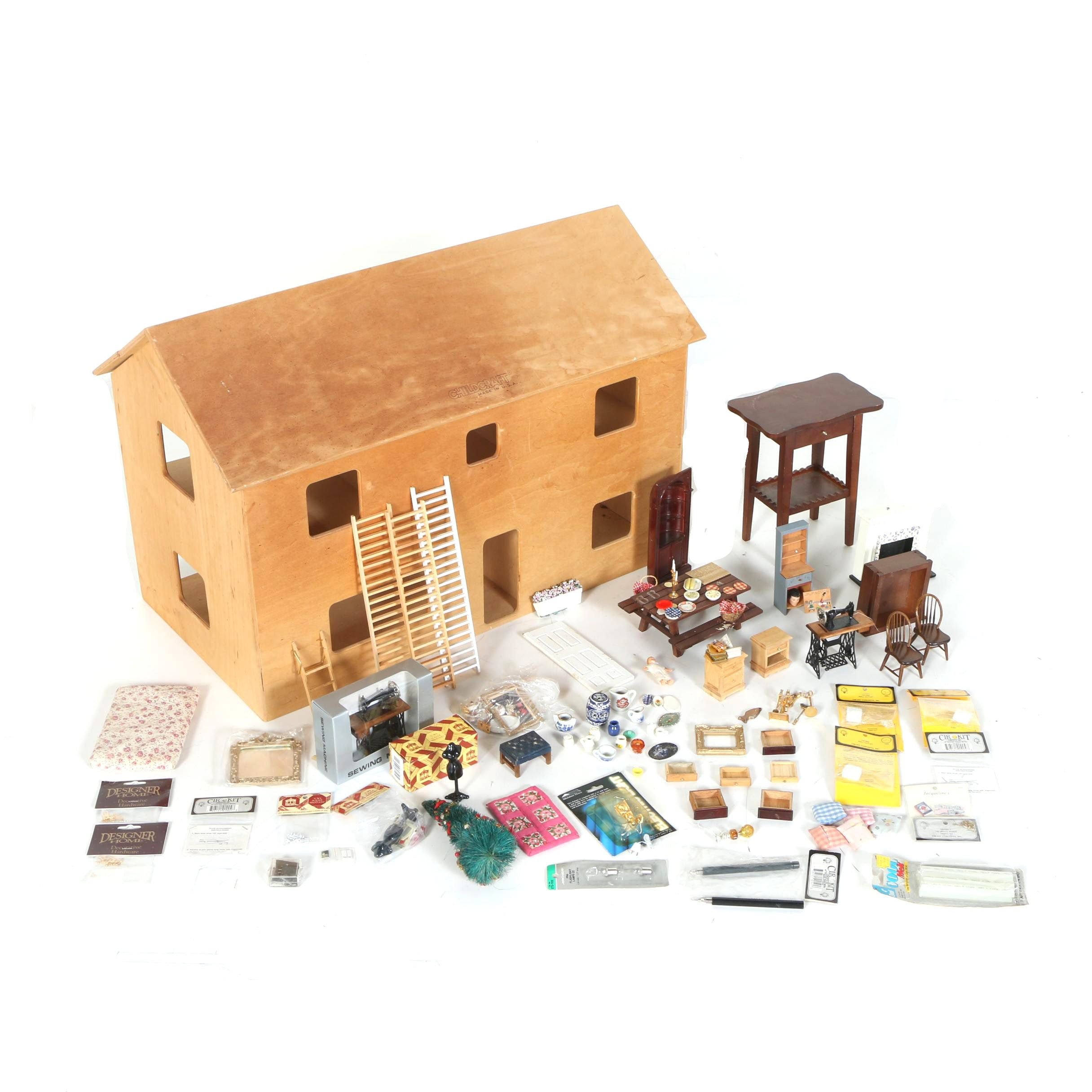 Childcraft Dollhouse with Accessories