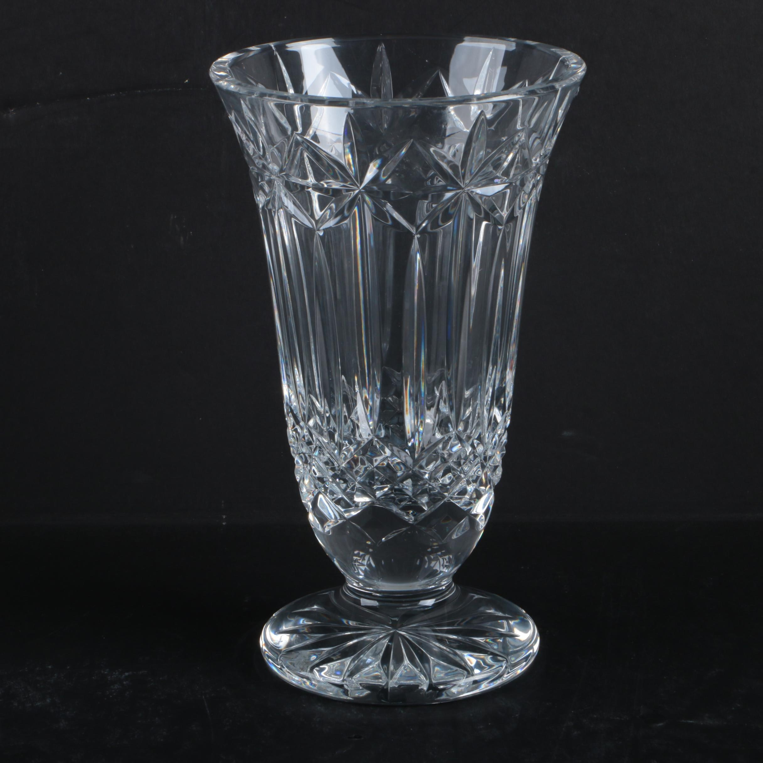 """Waterford Crystal """"Balmoral"""" Vase"""