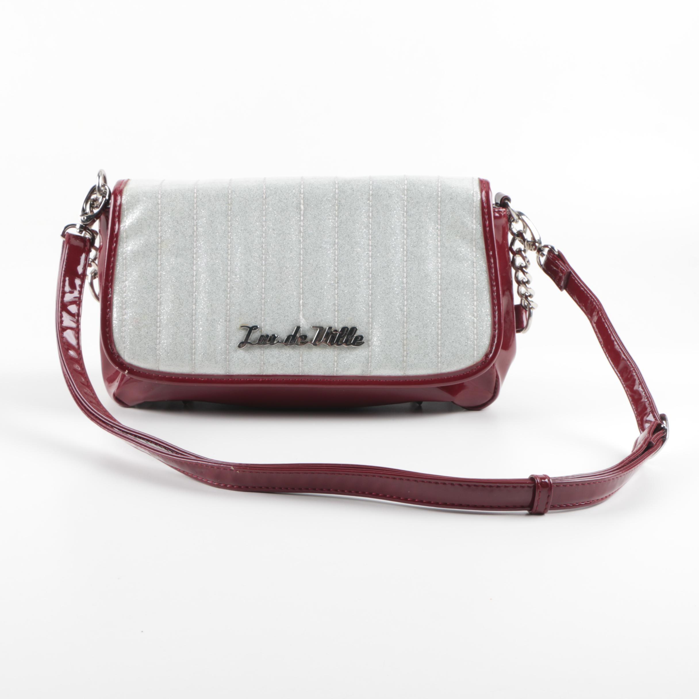 Lux de Ville Vinyl Shoulder Bag