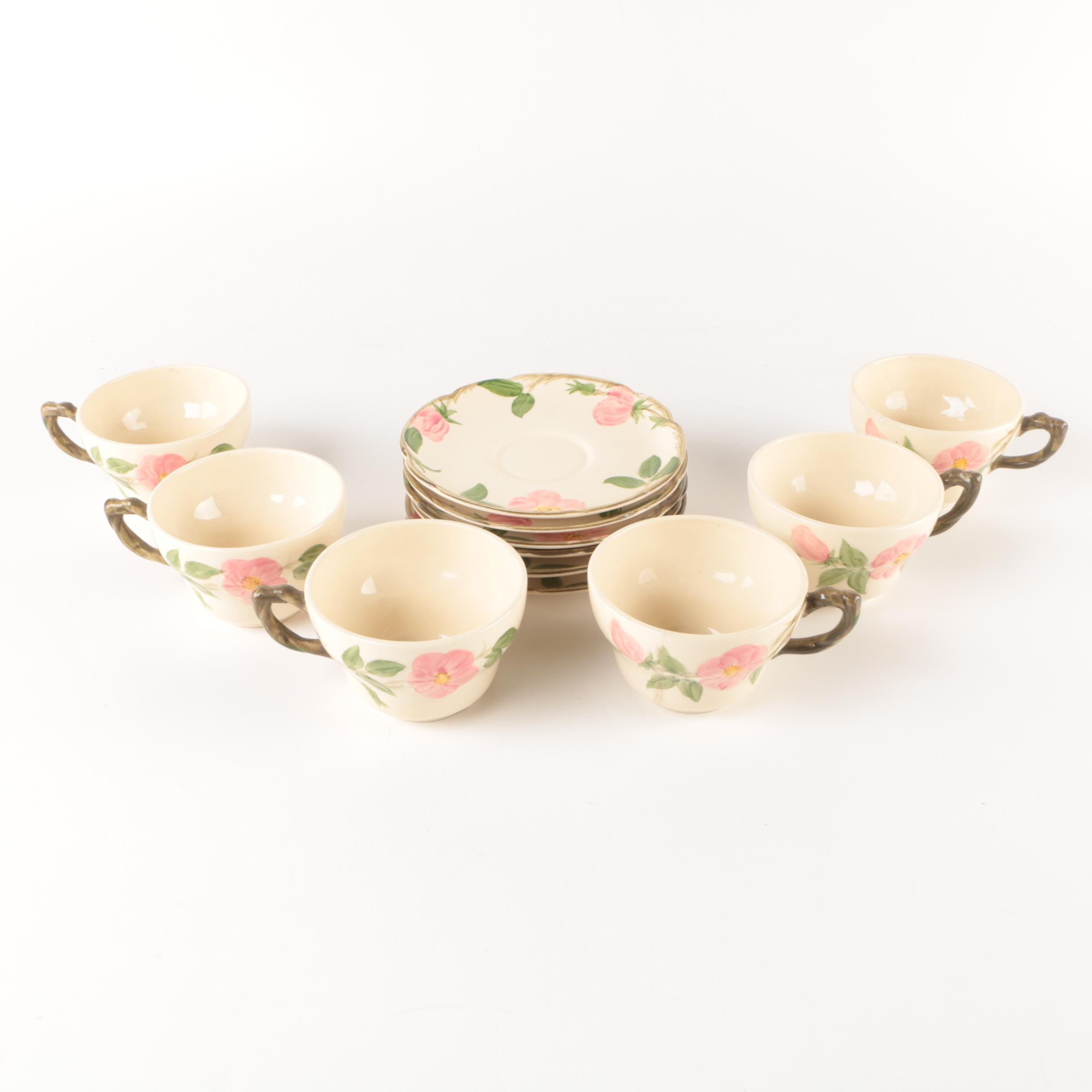 "Franciscan ""Desert Rose"" Earthenware Tableware"
