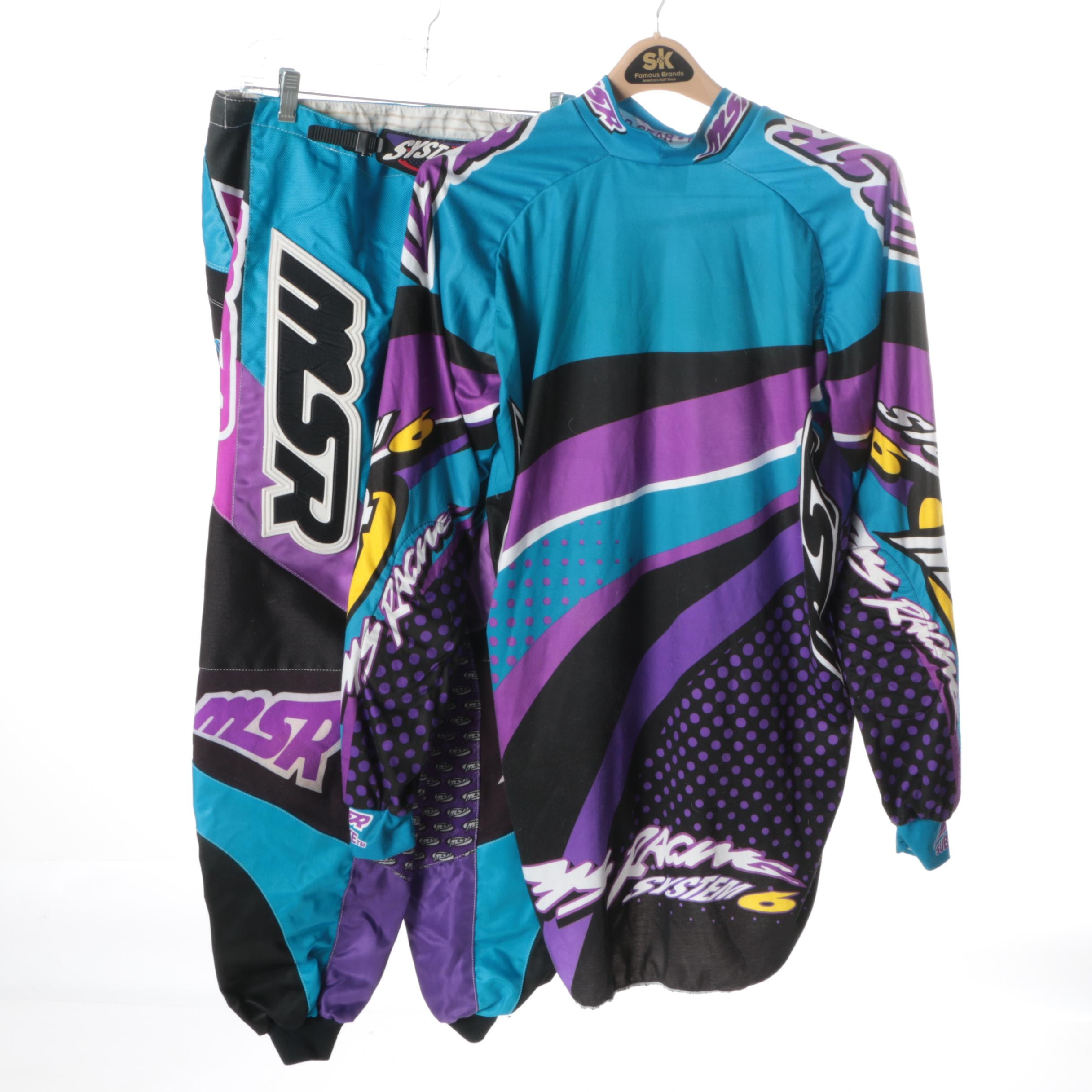 Men's Malcolm Smith Racing Motocross Jersey and Pants