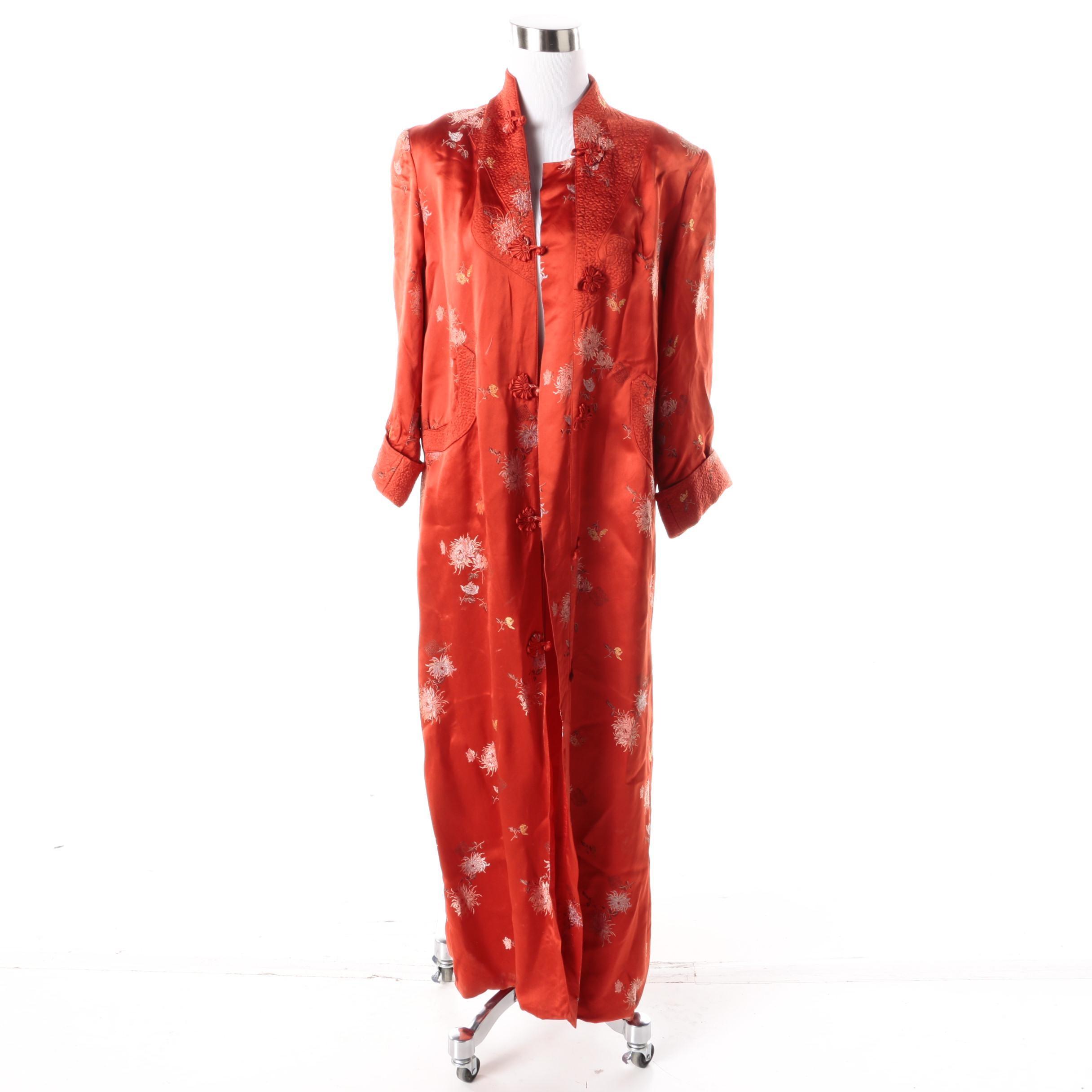 Women's Chinese Satin Robe
