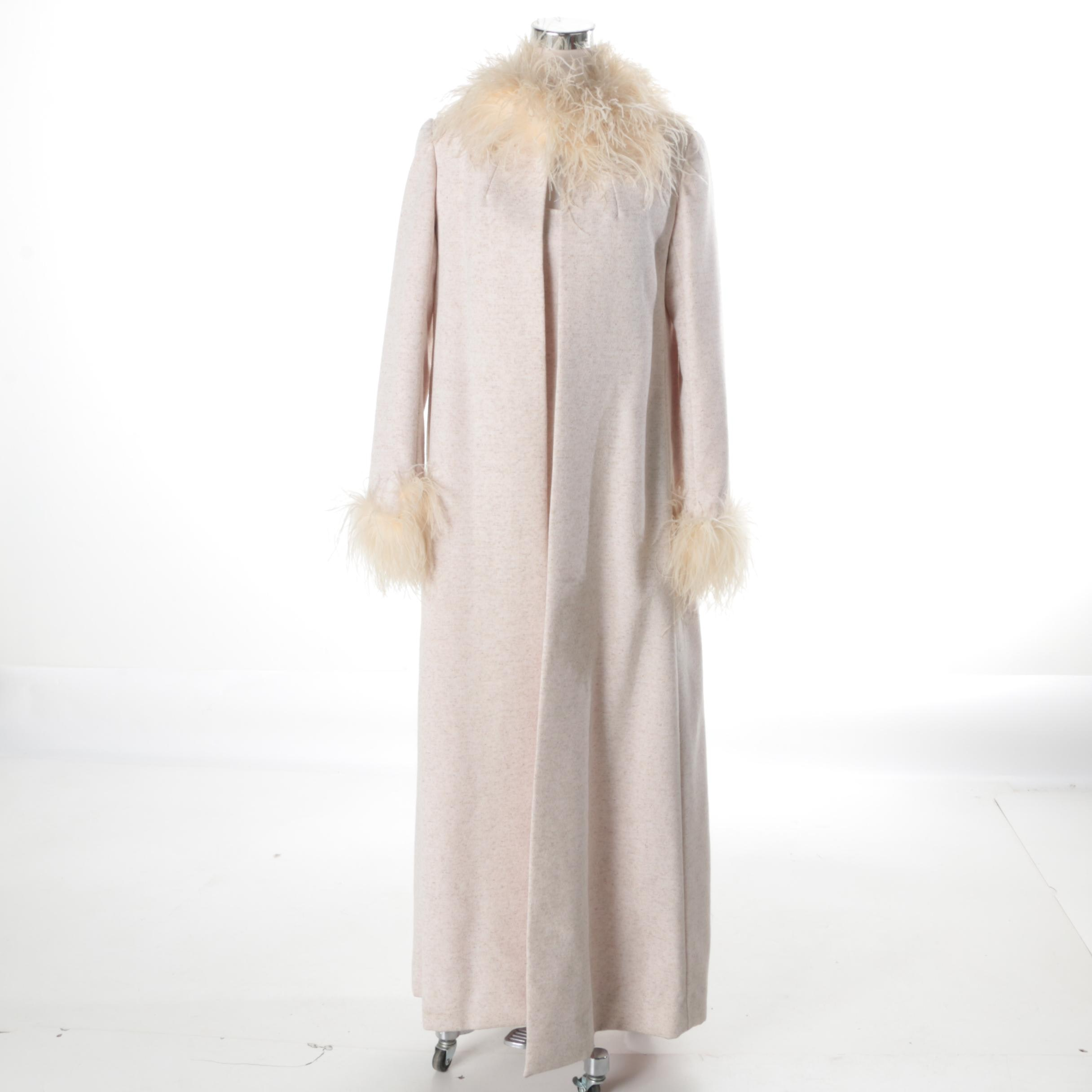 1960s Vogue Paris Original Dress and Overcoat