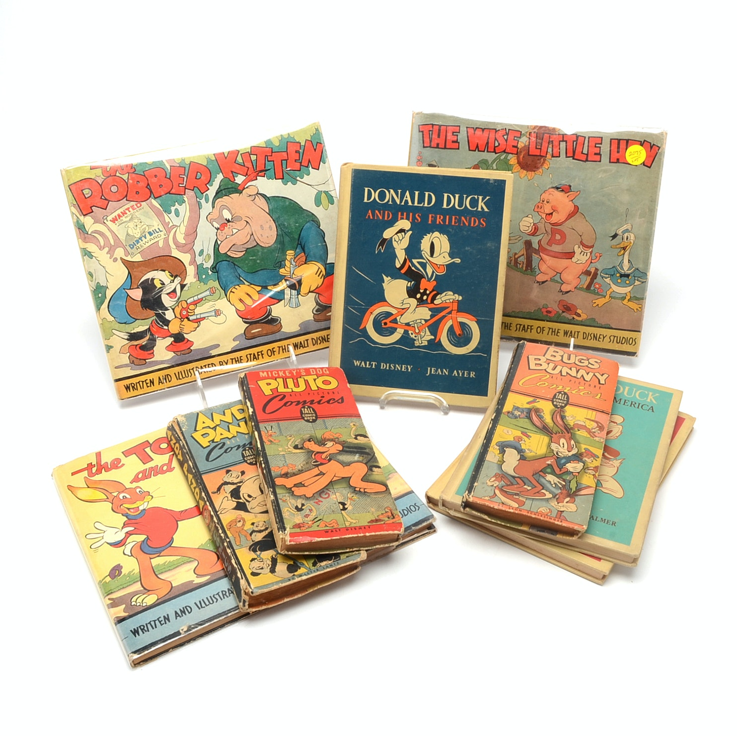 Group of Early Disney Comic Books