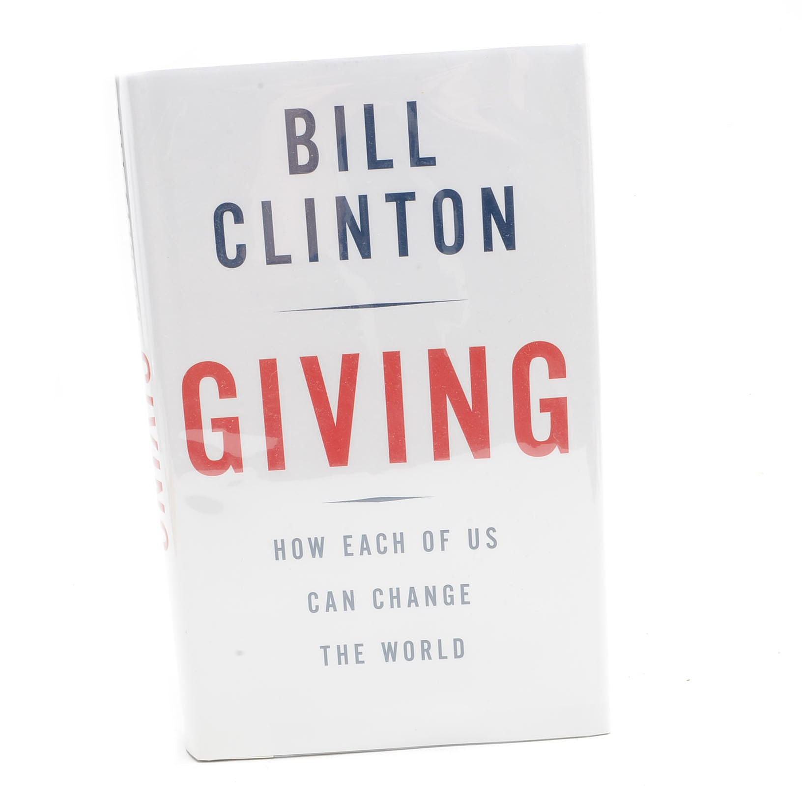 """Bill Clinton Signed """"Giving"""""""