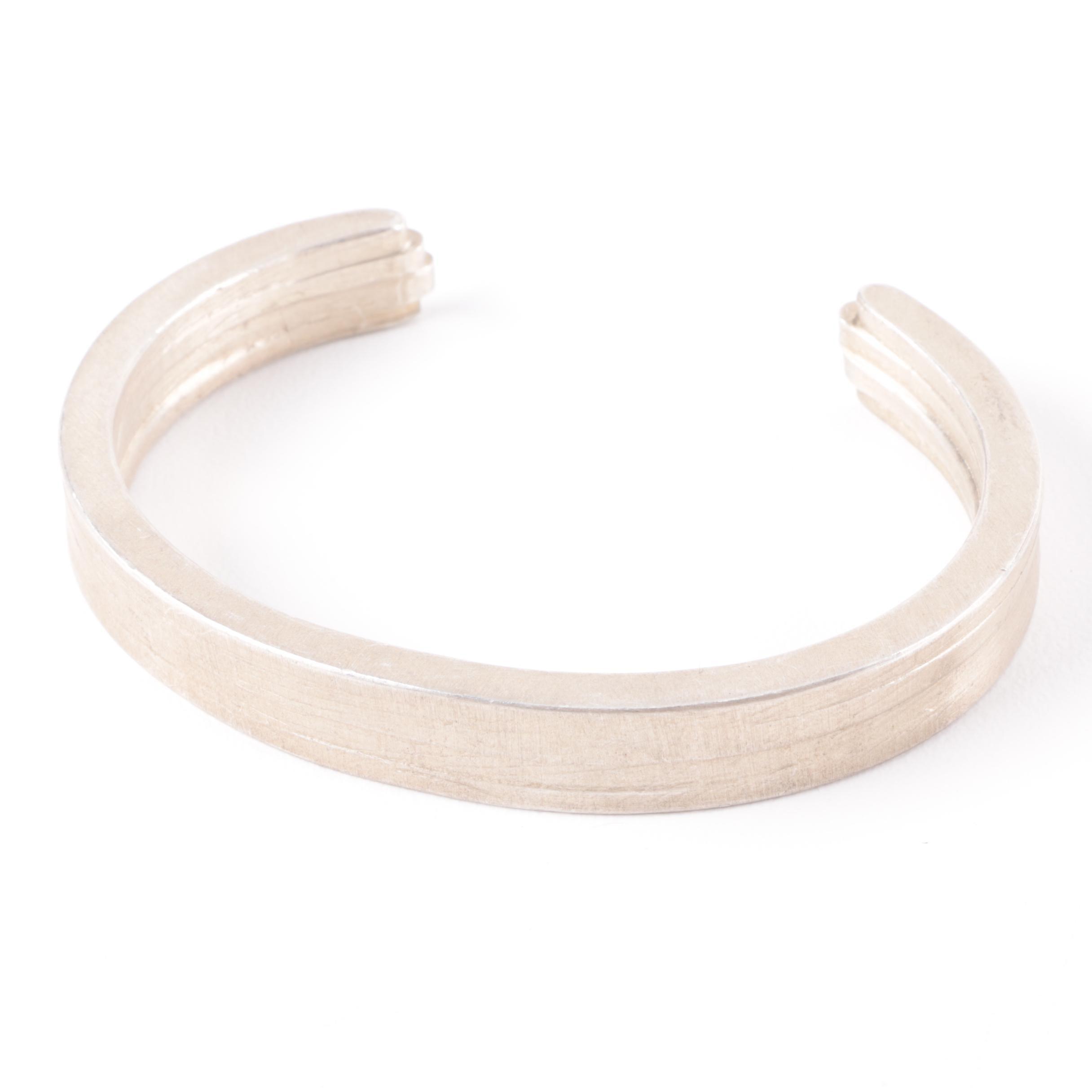 Miansai Sterling Silver Cuff Bracelet
