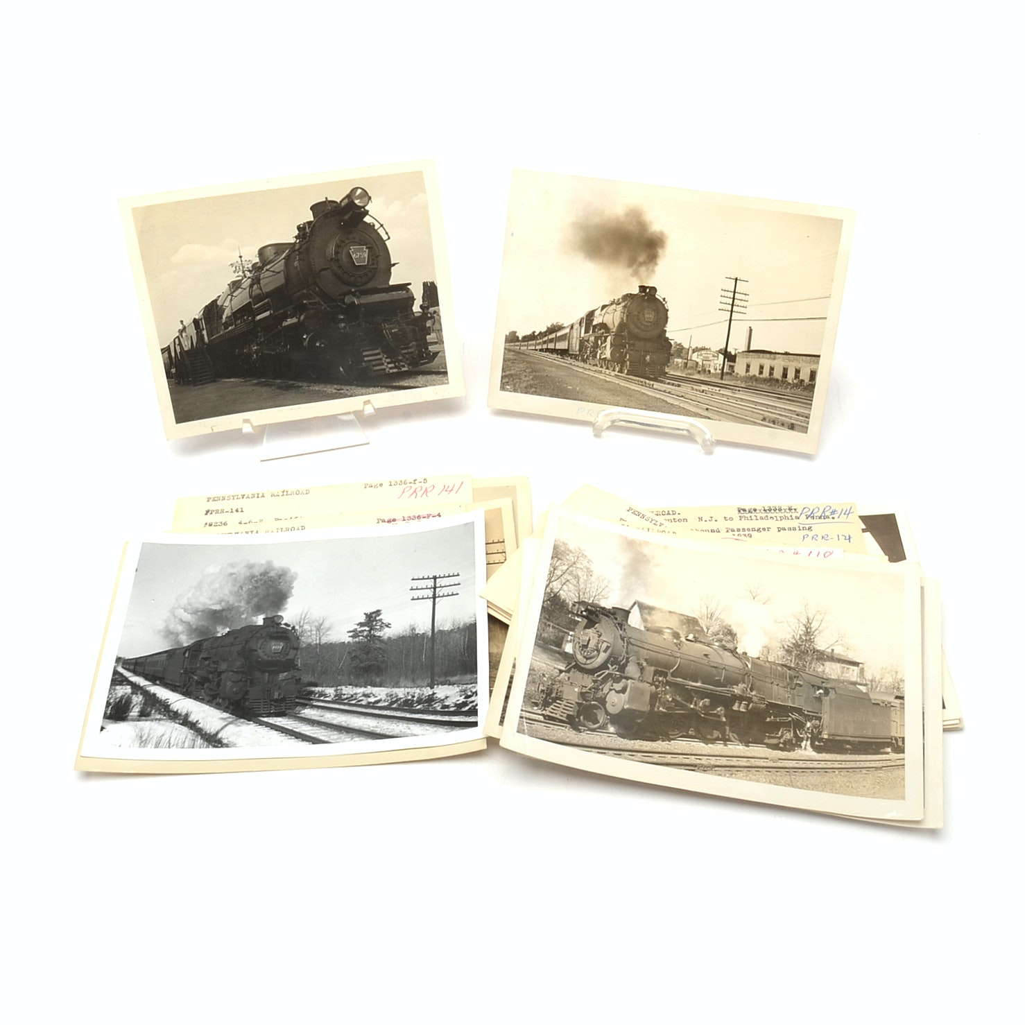 Collection of Pennsylvania Railroad Photographs from 1930s