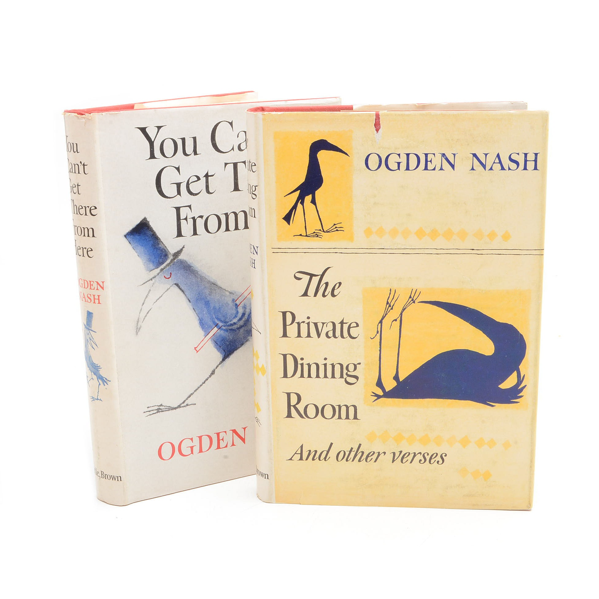 Signed Ogden Nash Poetry Books Illustrated by Maurice Sendak