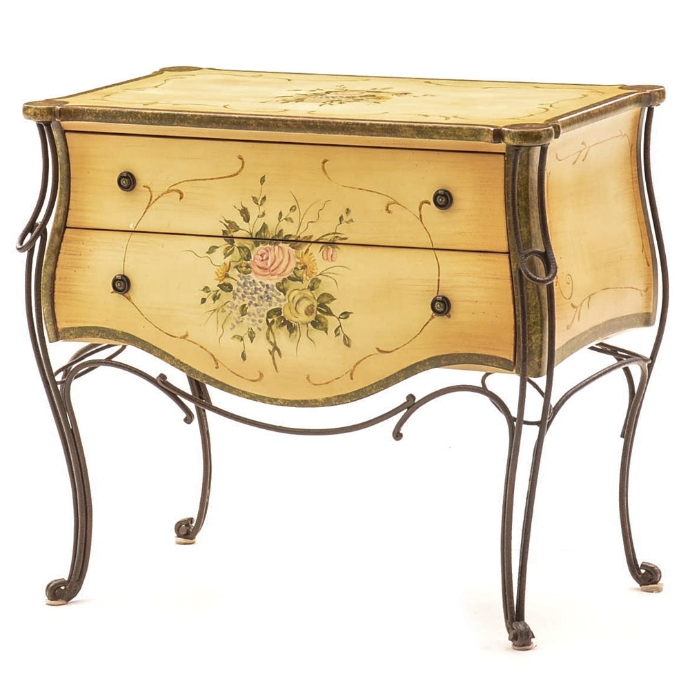 Hand-Painted Chest of Drawers