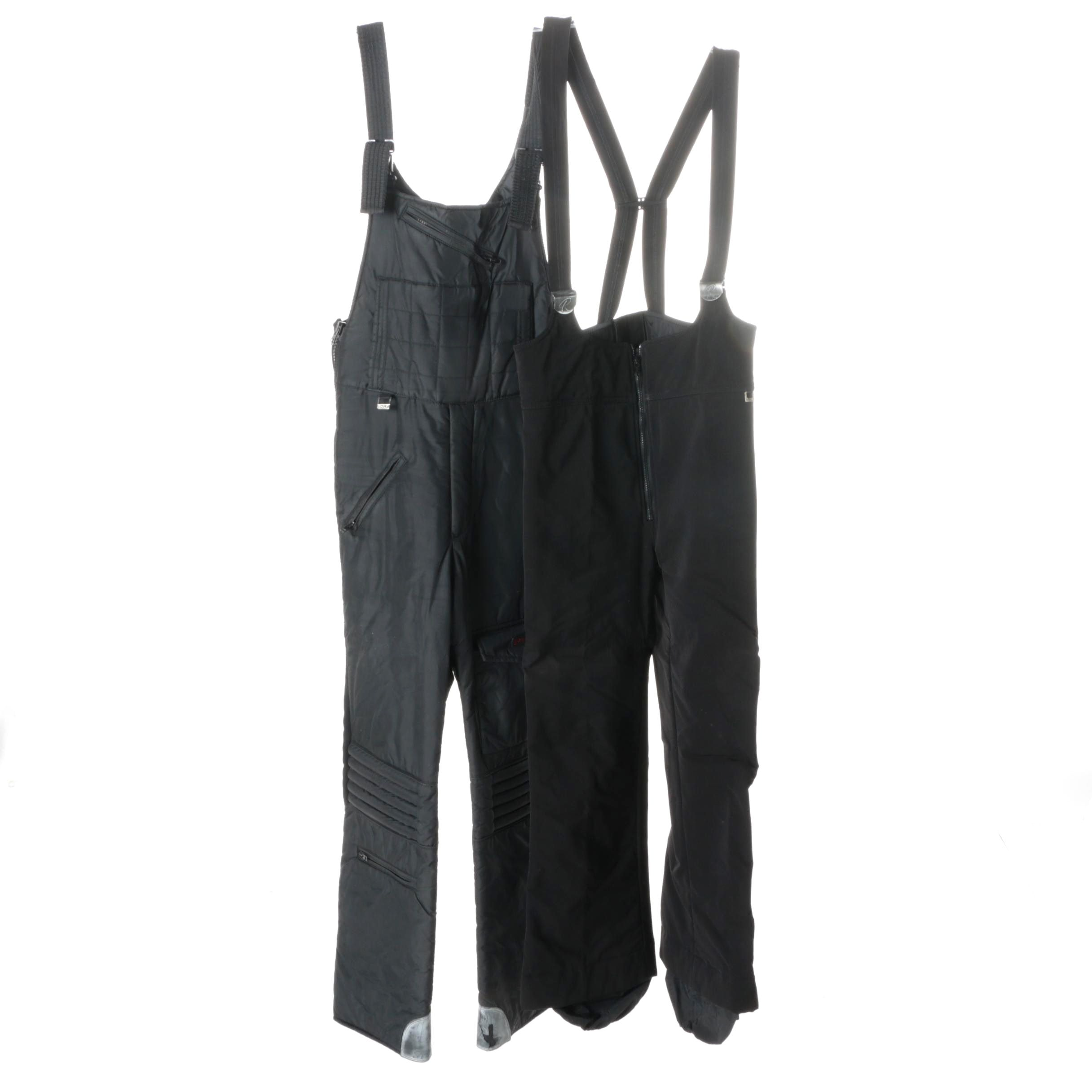 Men's Roffe and Spyder Suspender Ski Pants