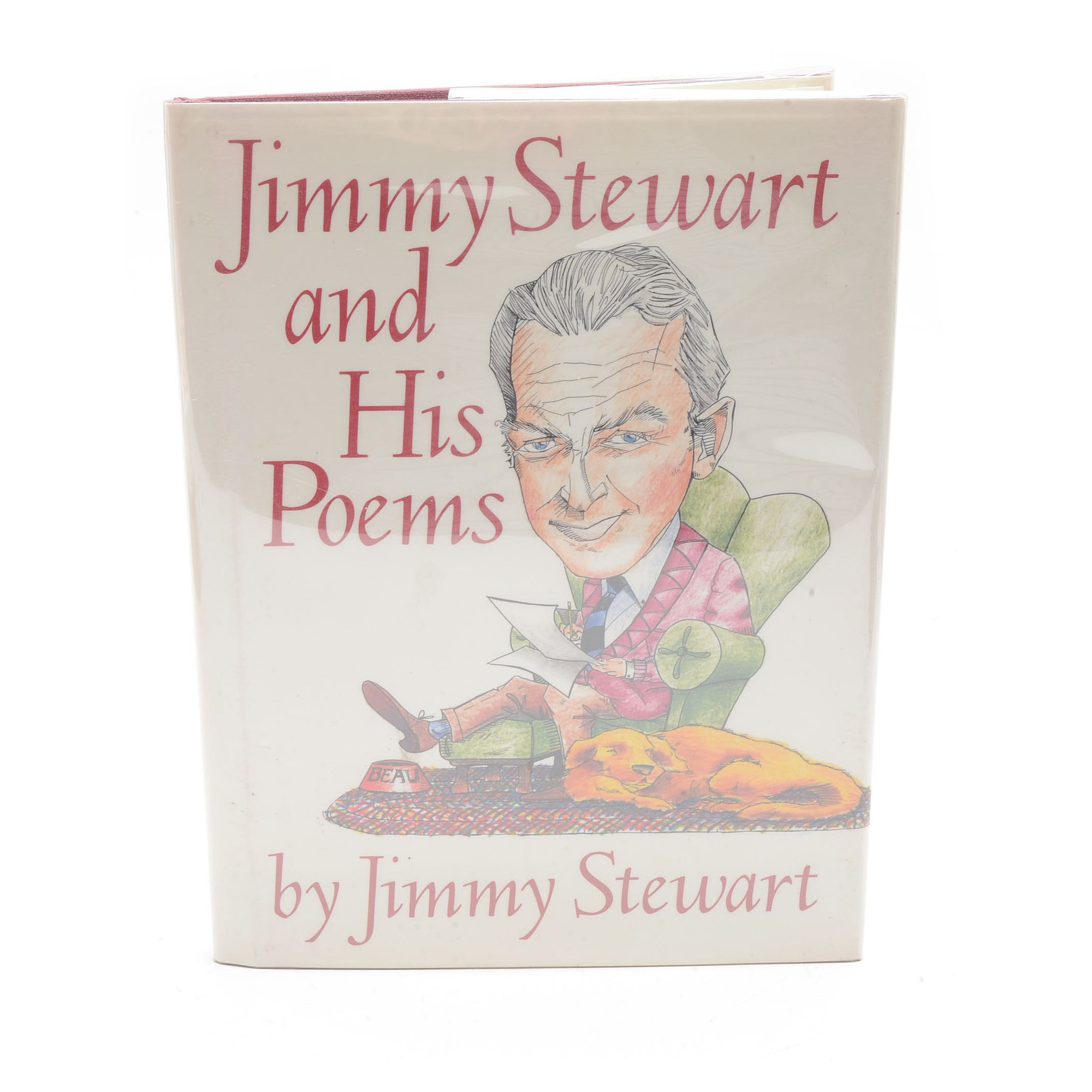 "Signed Copy of ""Jimmy Stewart and His Poems"""