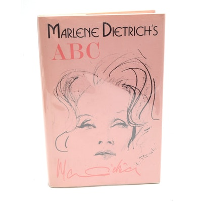 """Signed Limited Edition Marlene Dietrich """"ABC"""""""