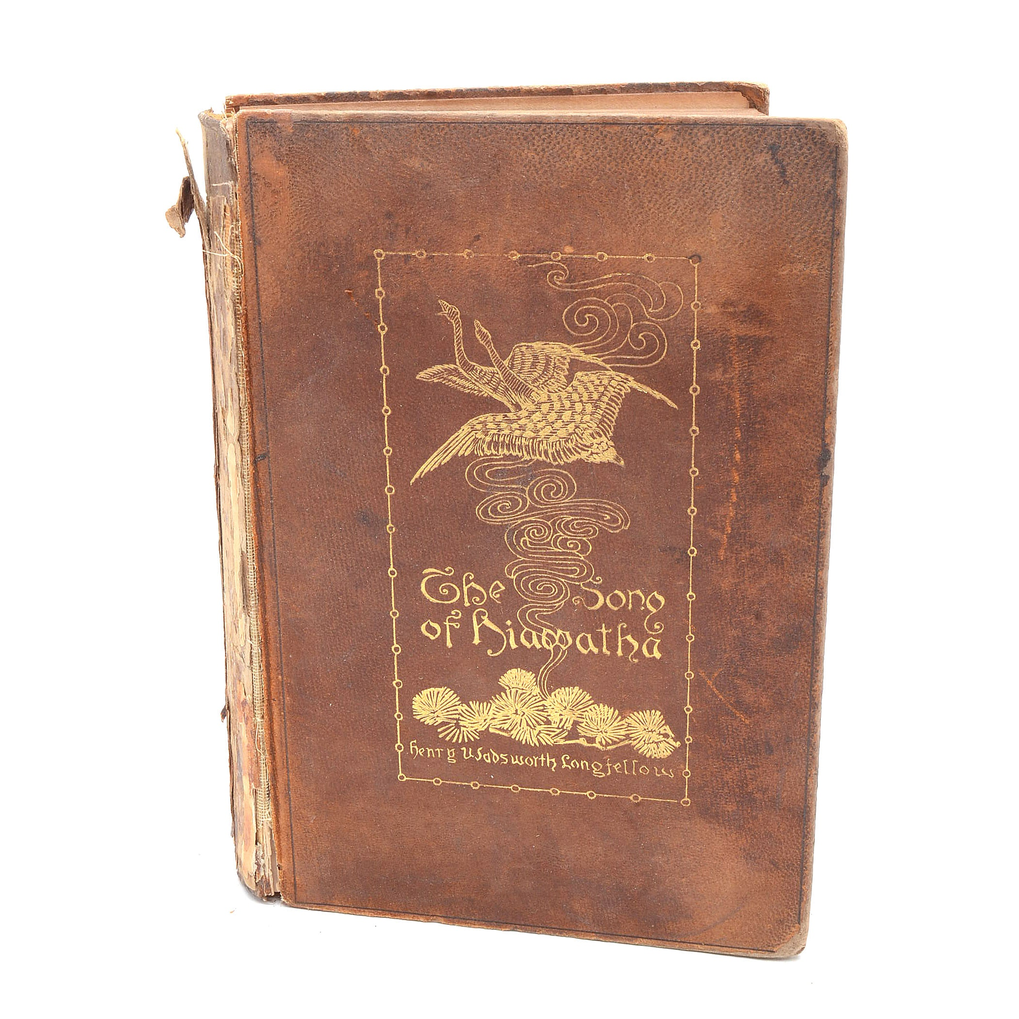 "1890 First Remington Illustrated Edition of ""The Song of Hiawatha"" by Longfellow"