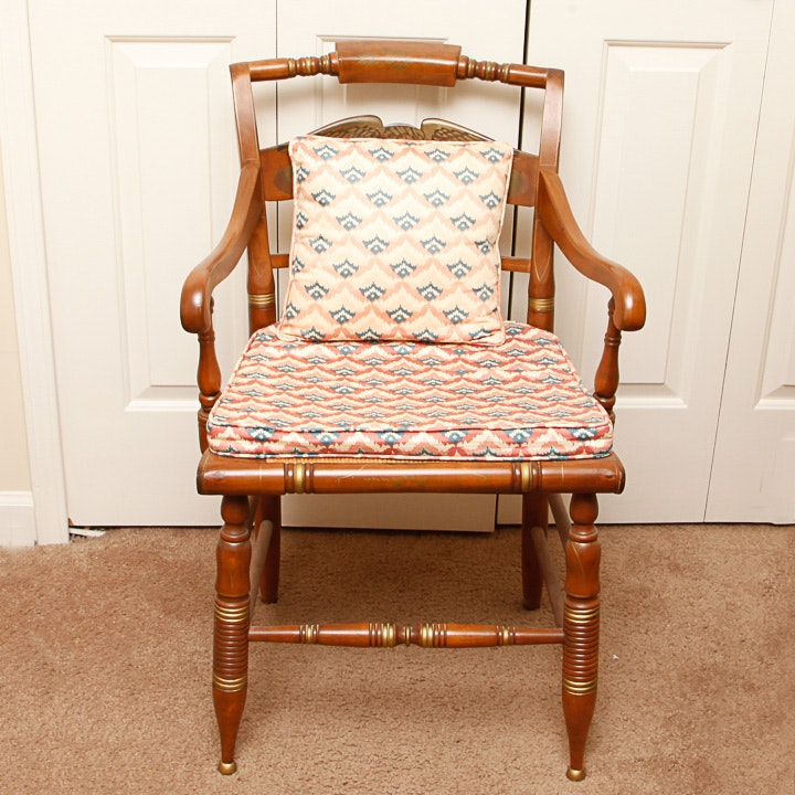 Vintage Hitchcock Style Chair by Ethan Allen