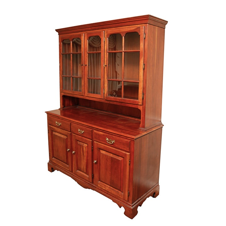 Colonial Style Cherry Hutch