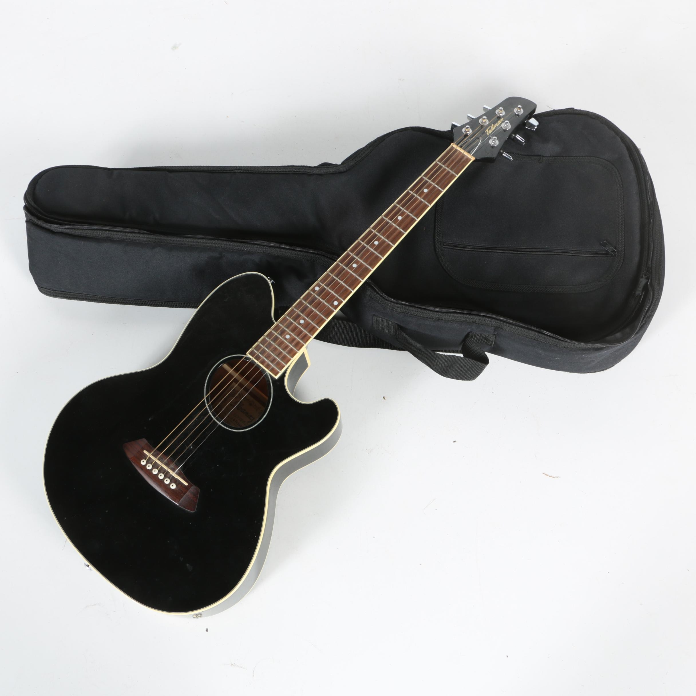 Ibanez Talman Acoustic Electric Guitar And Case Ebth