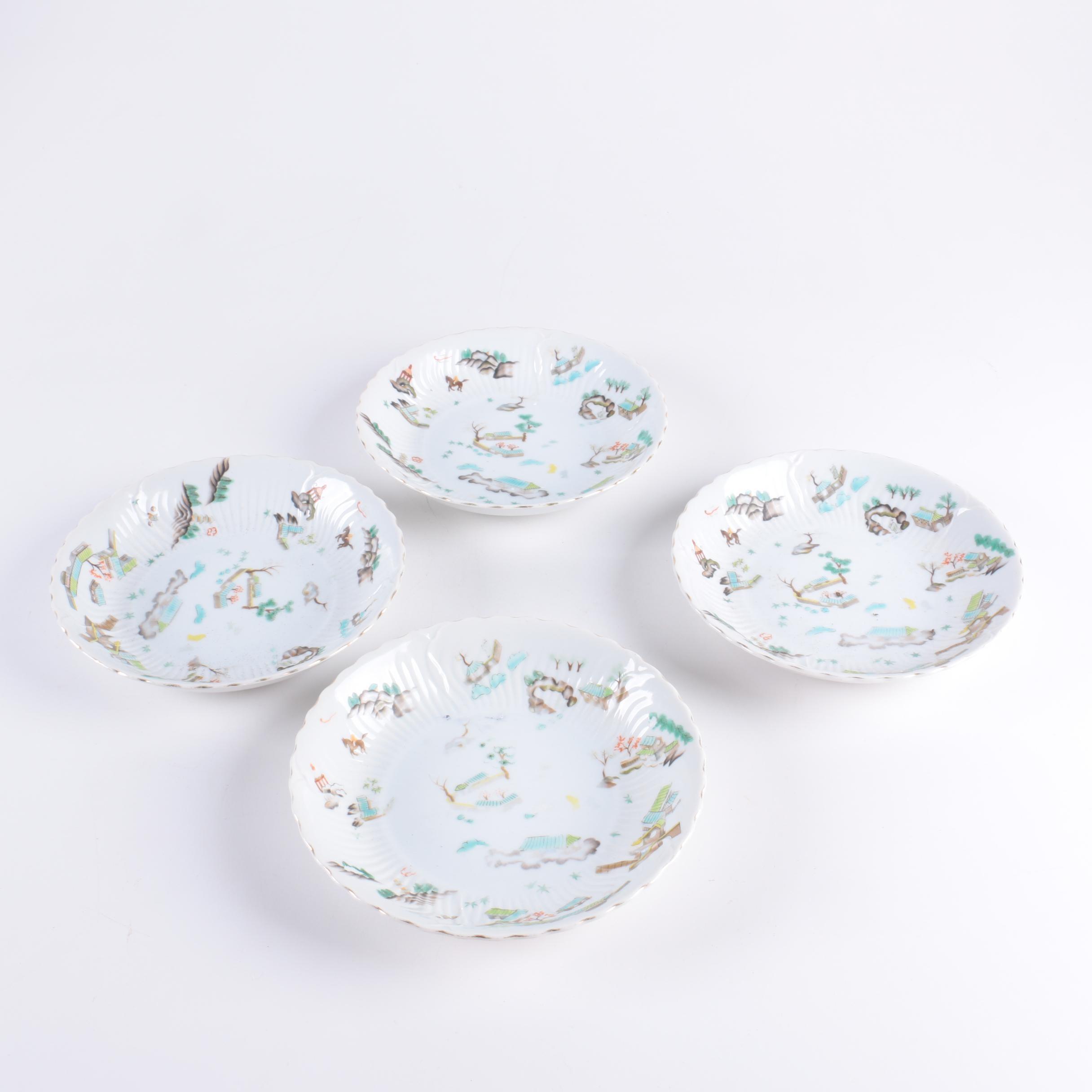"Victorian China ""Ming"" Porcelain Bowls"