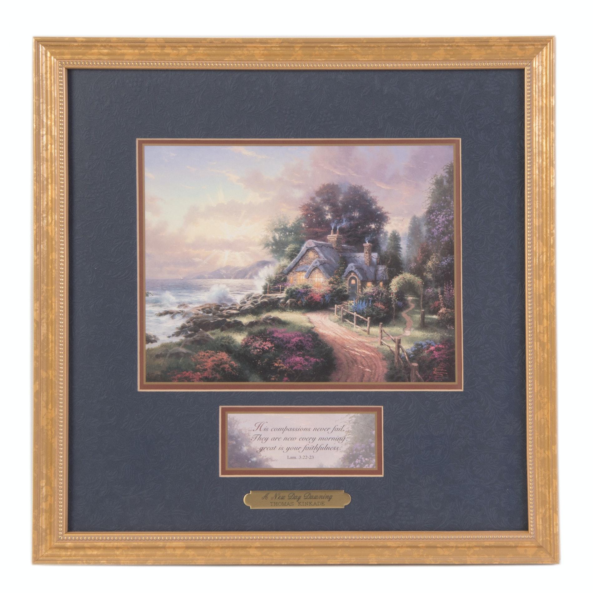 Thomas Kinkade Framed Lithograph