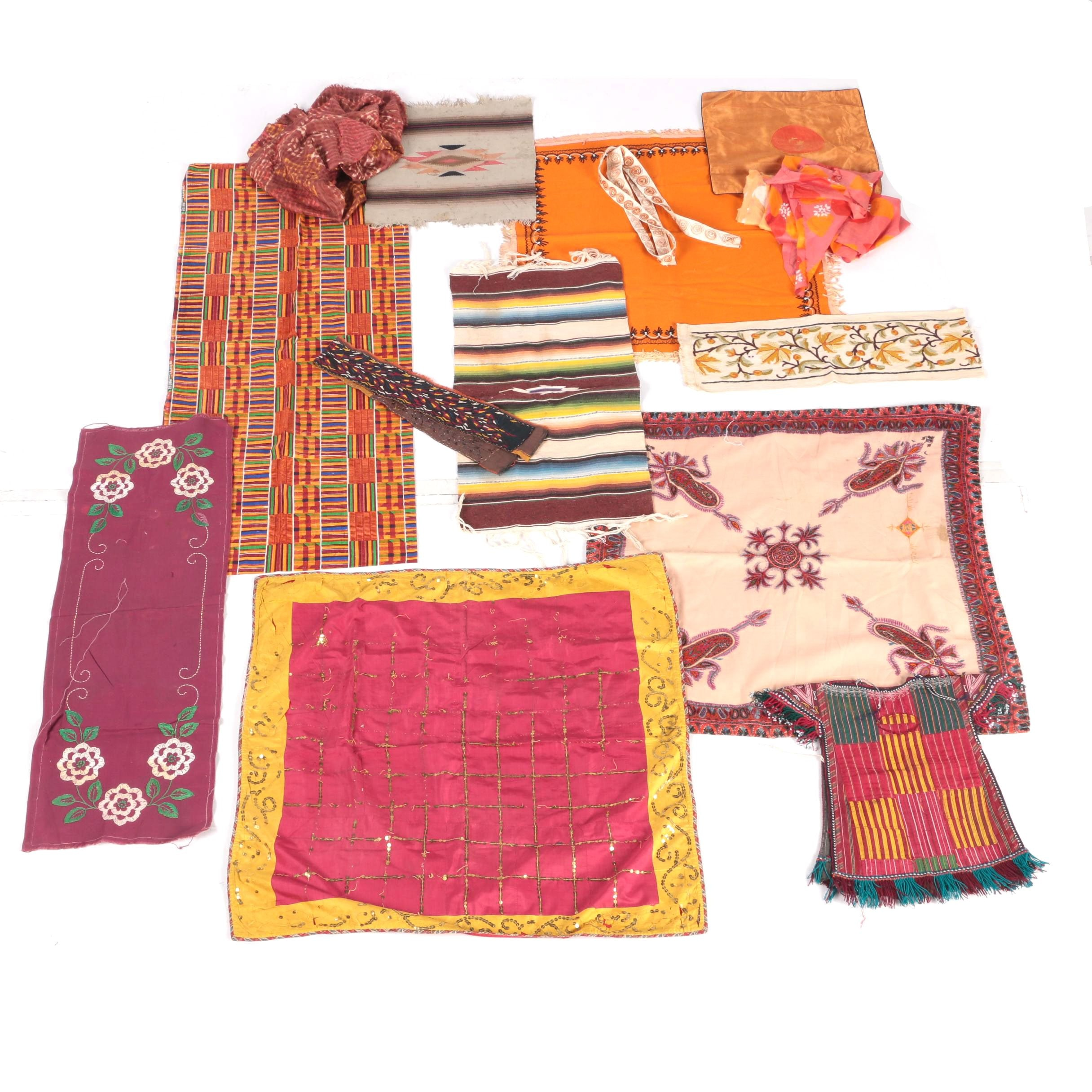 Tablecloths Runners And Assorted linens