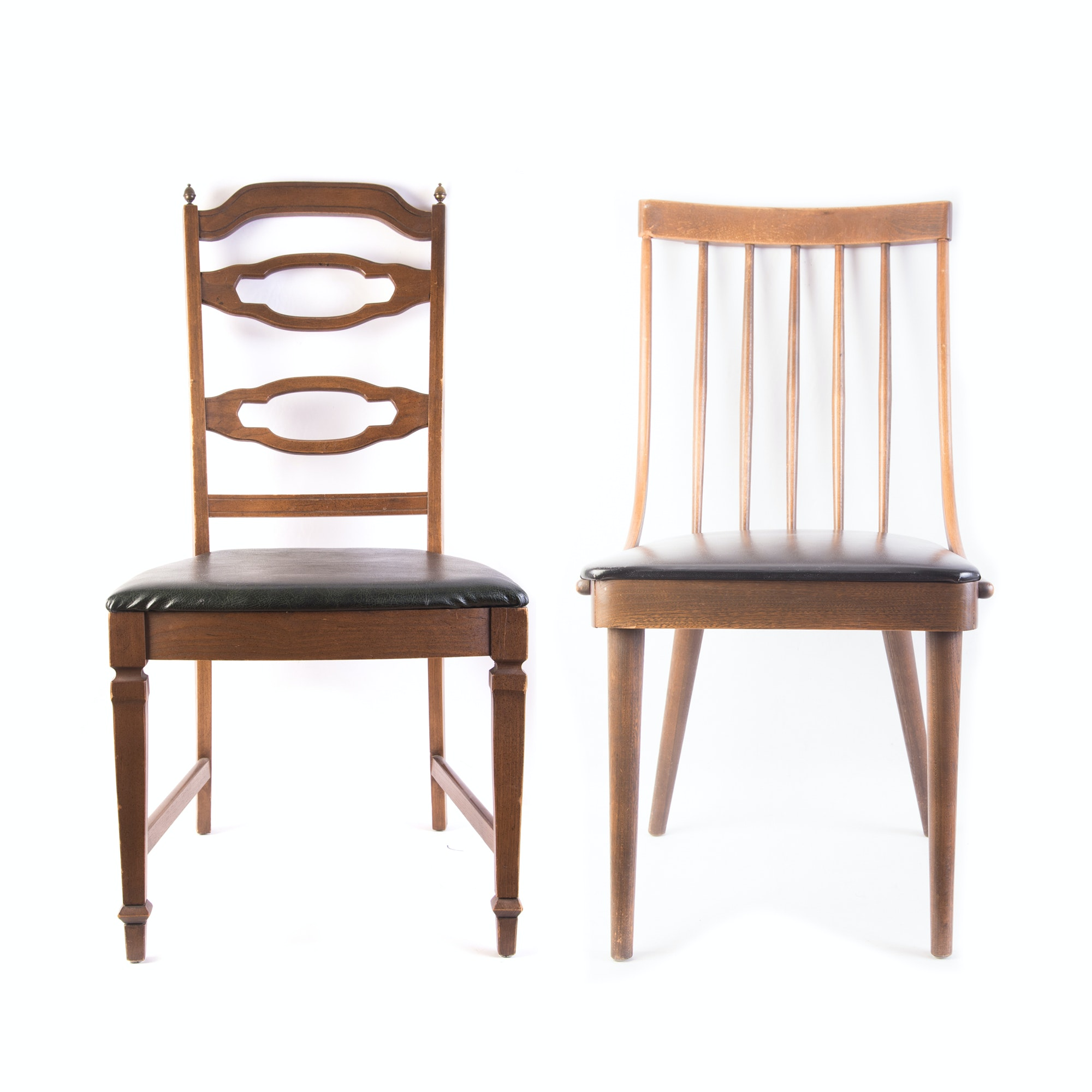Pair of Vintage Dining Chairs, Including  Richardson-Nemschoff