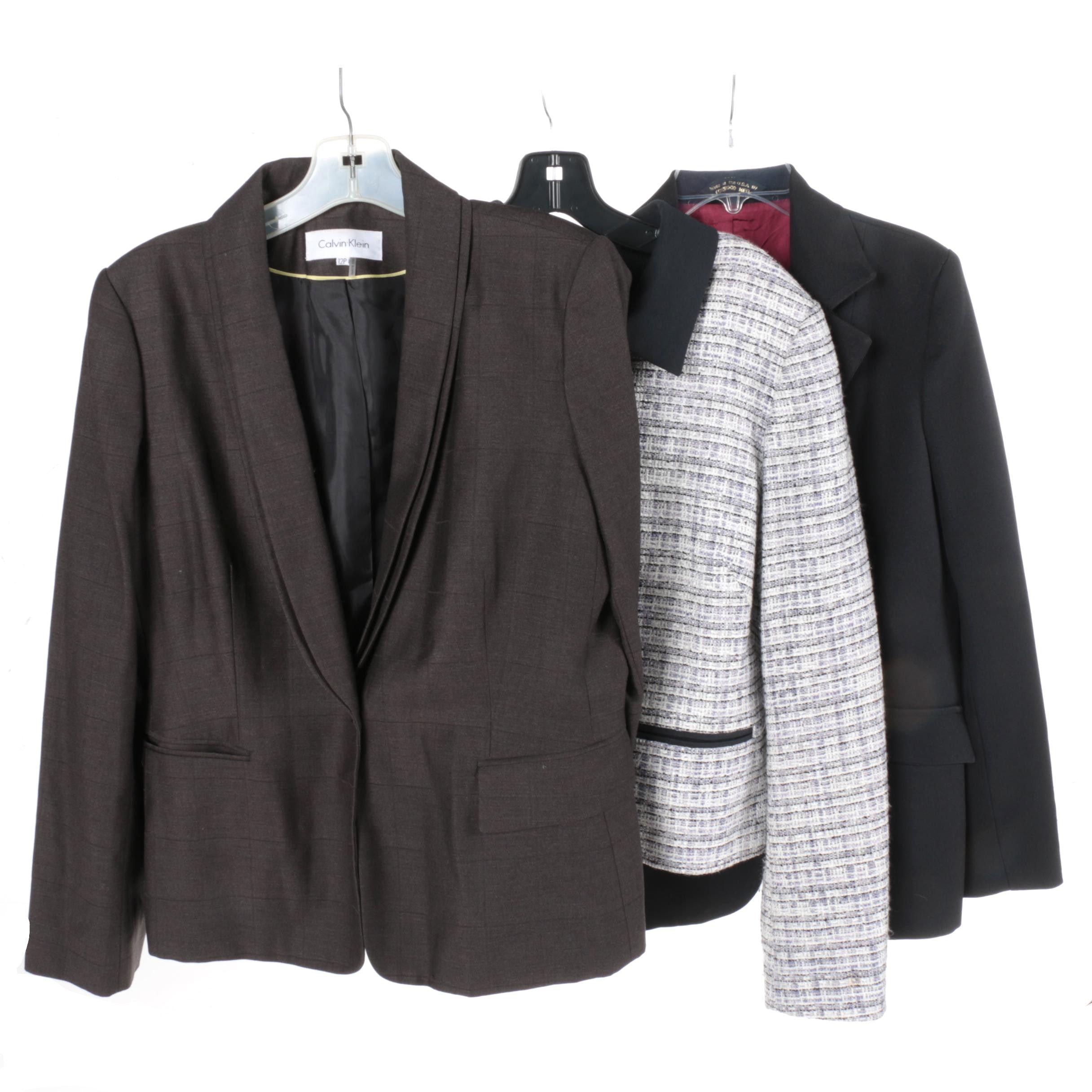 Women's Suit Jackets Including Calvin Klein