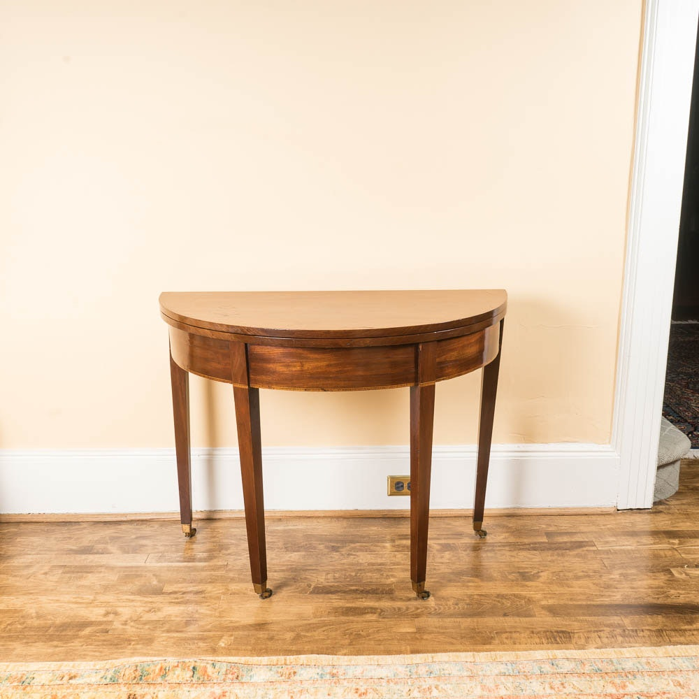 Antique Federal Style Hall Table