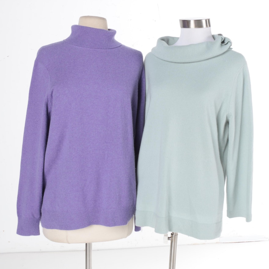 Women s Cashmere Sweaters Including Lands  End   EBTH 9743135fb