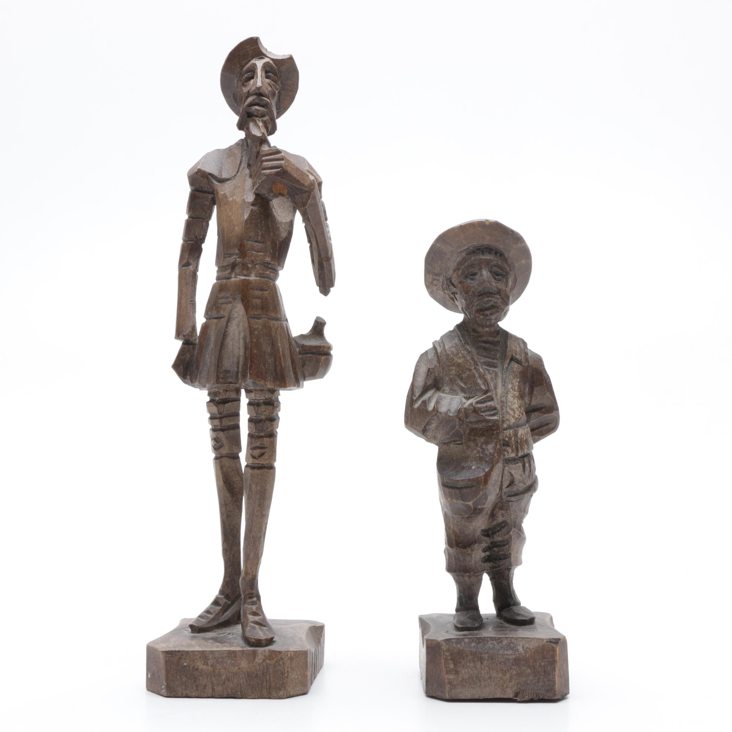 Decorative Hand Carved Wooden Figurines