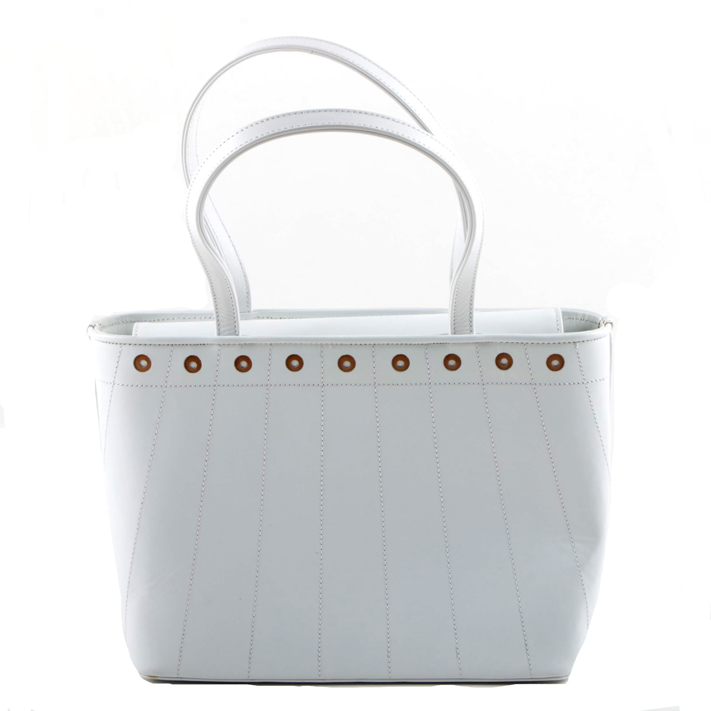 Stuart Weitzman White Leather Handbag