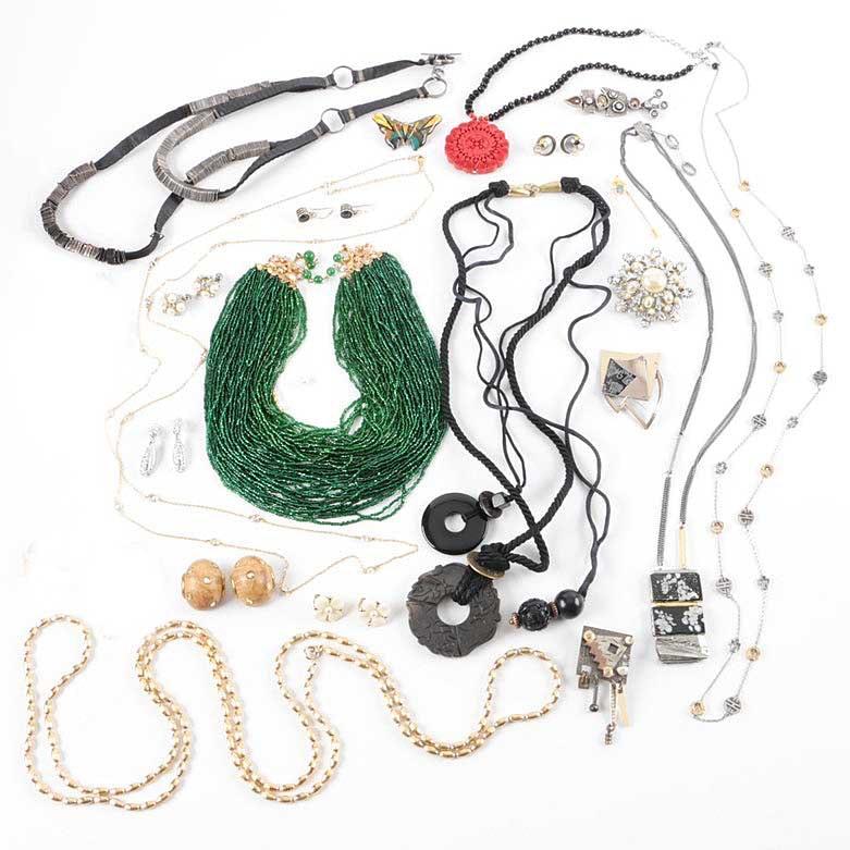 Costume Jewelry Featuring Bowenite