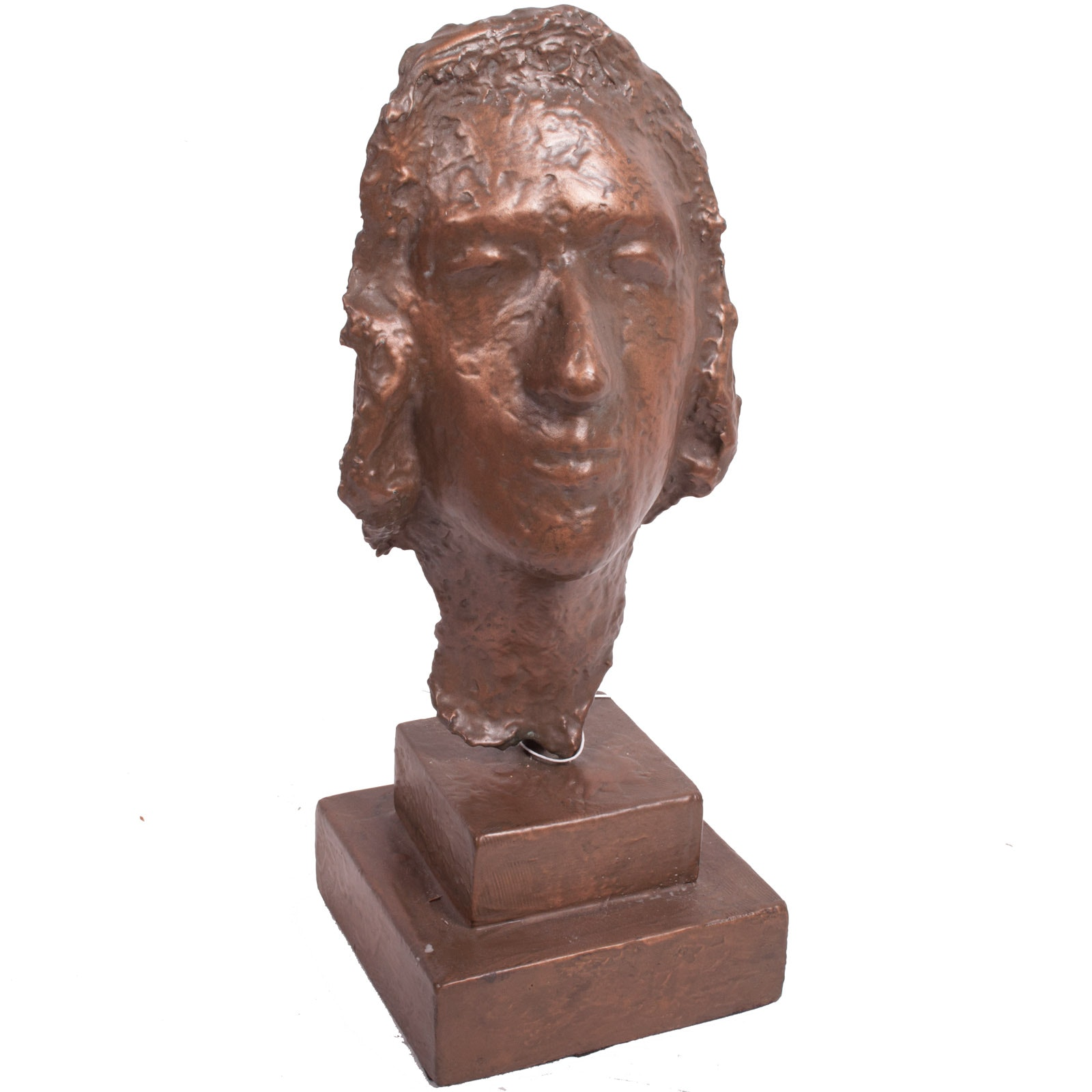 """Virginia K Hess Cold Bronze Sculpture """"Serenity"""""""