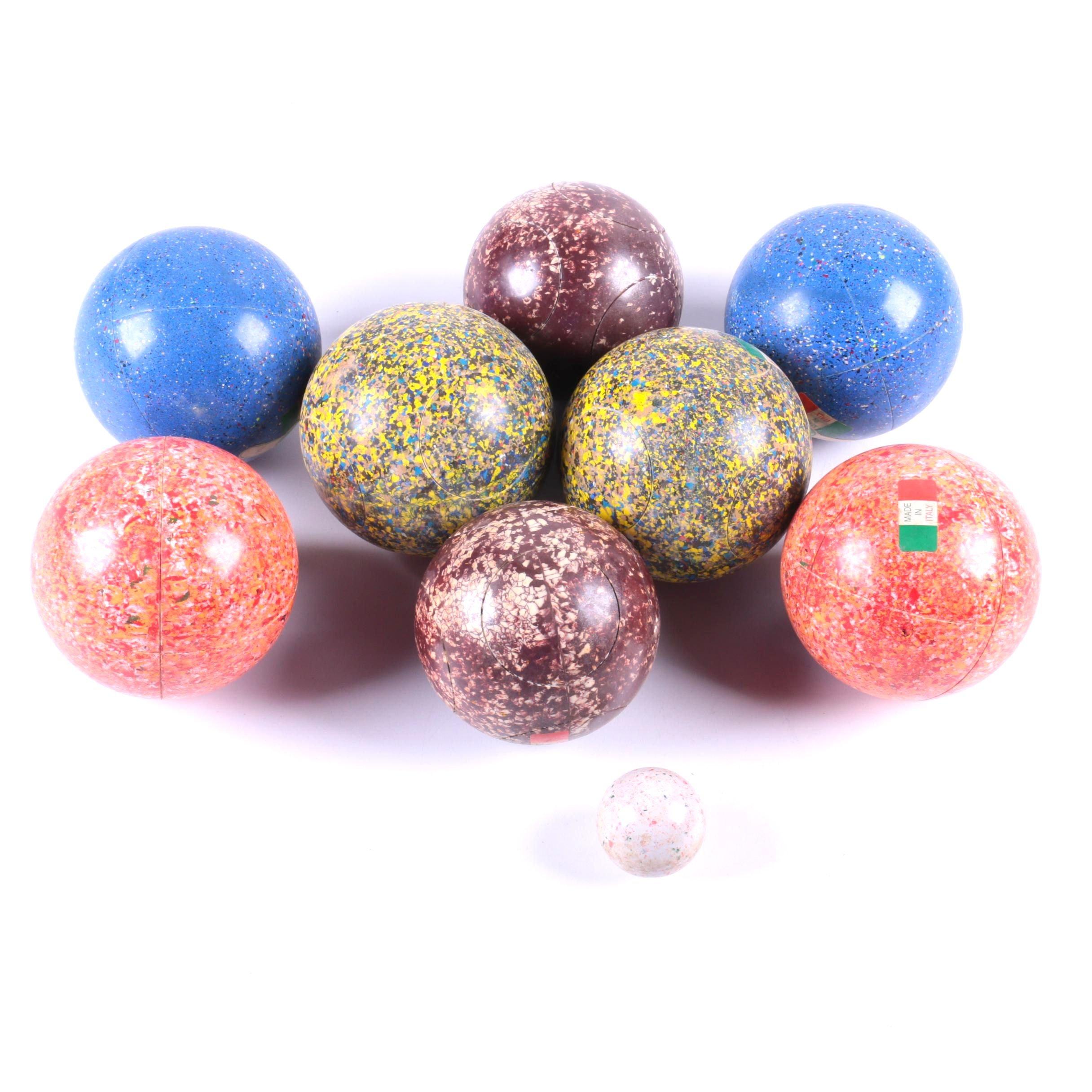 Cast Torino Bocce Balls